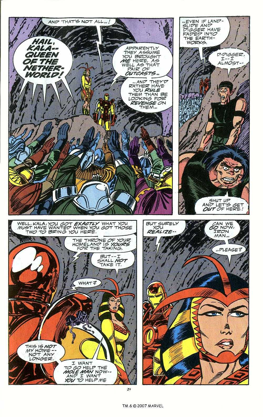 Iron Man Annual issue 12 - Page 31