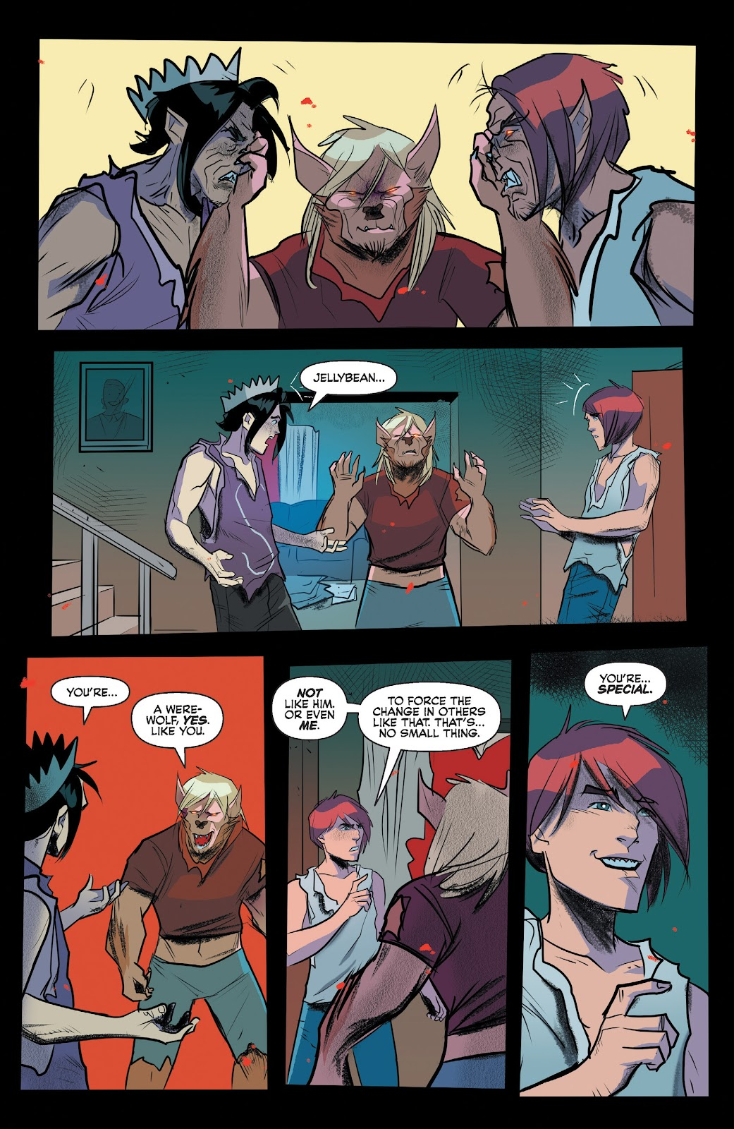 Read online Jughead The Hunger comic -  Issue #13 - 13