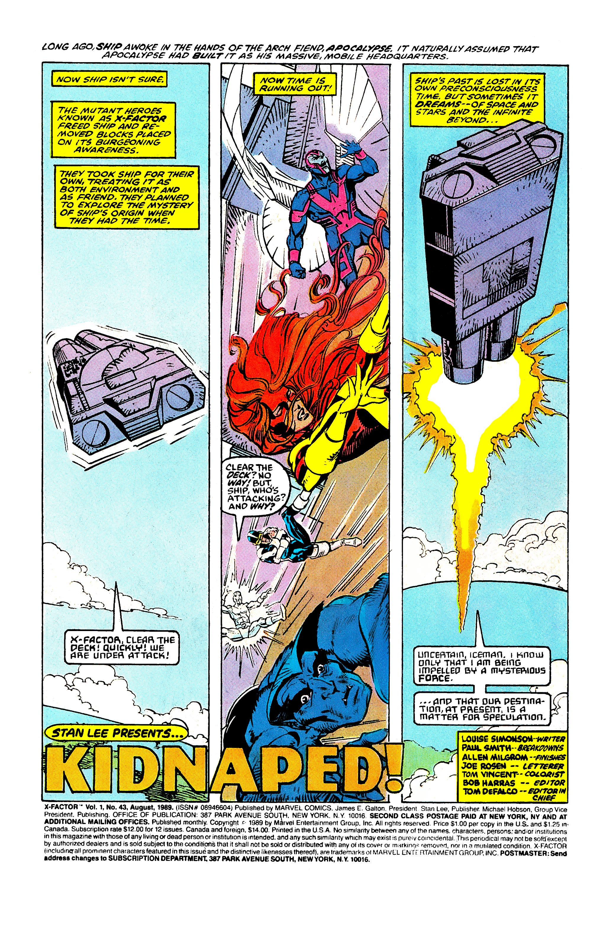 Read online X-Factor (1986) comic -  Issue #43 - 2