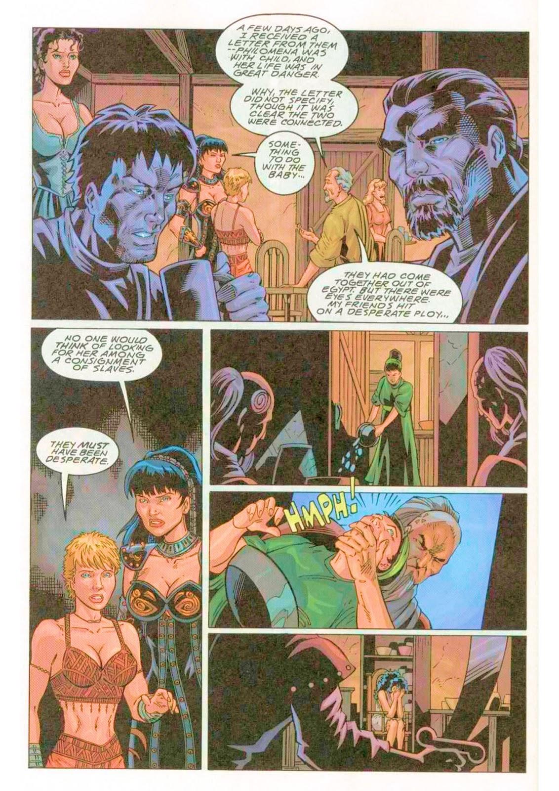 Xena: Warrior Princess (1999) Issue #4 #4 - English 24