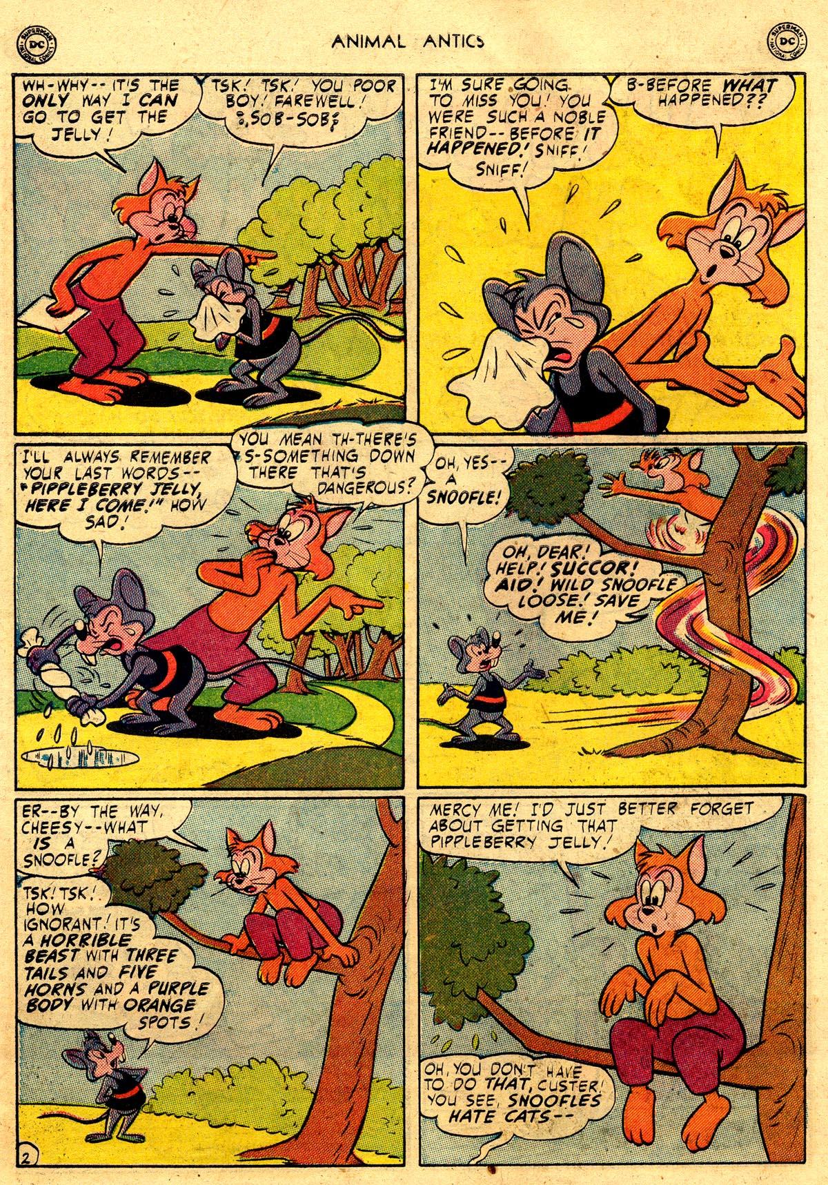 Read online Animal Antics comic -  Issue #26 - 12