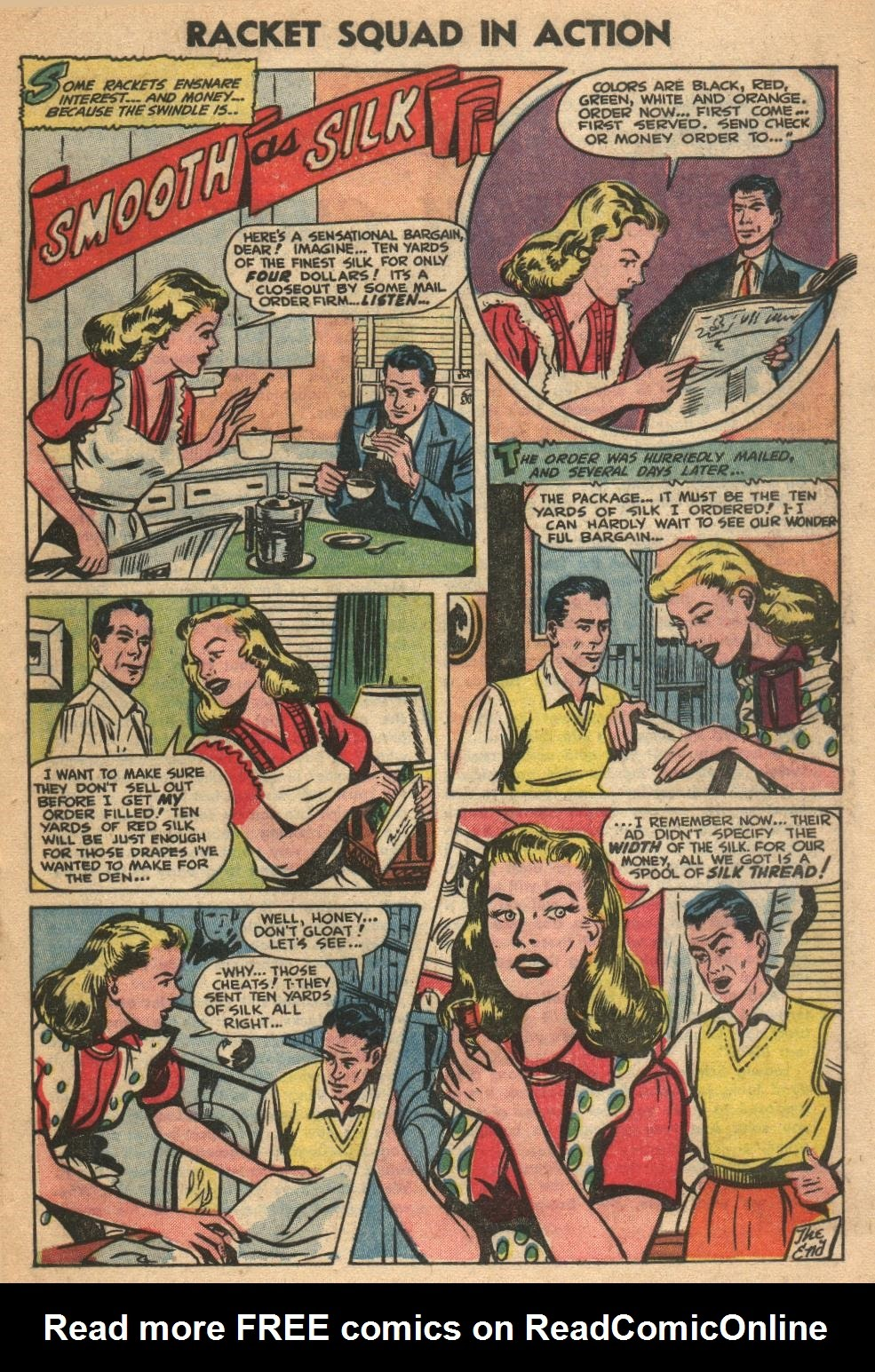 Read online Racket Squad in Action comic -  Issue #7 - 19