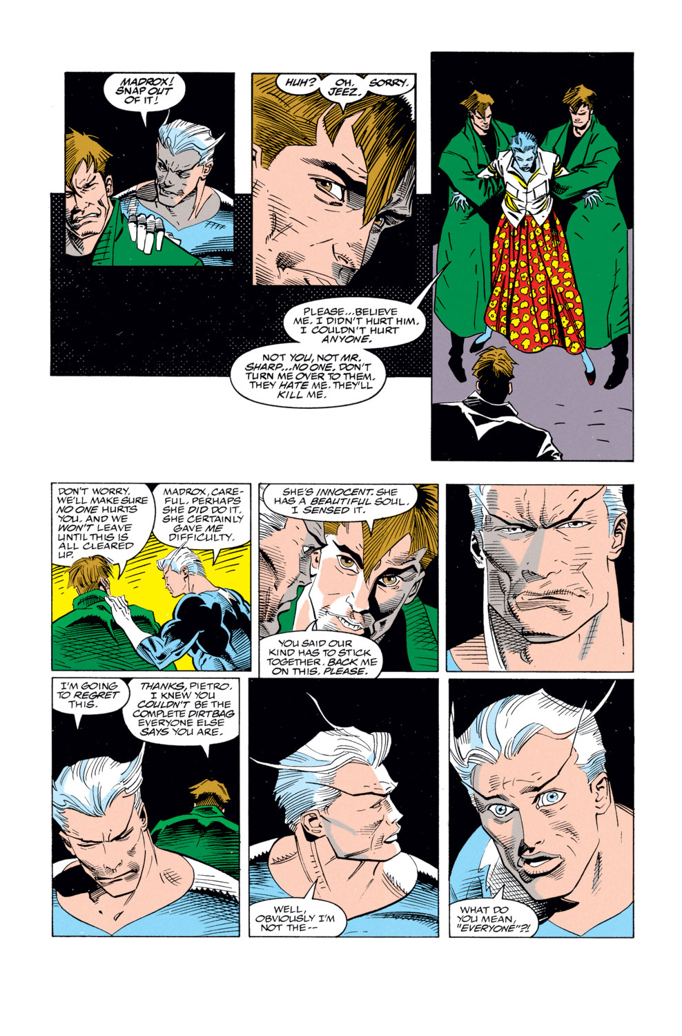Read online X-Factor (1986) comic -  Issue #79 - 22
