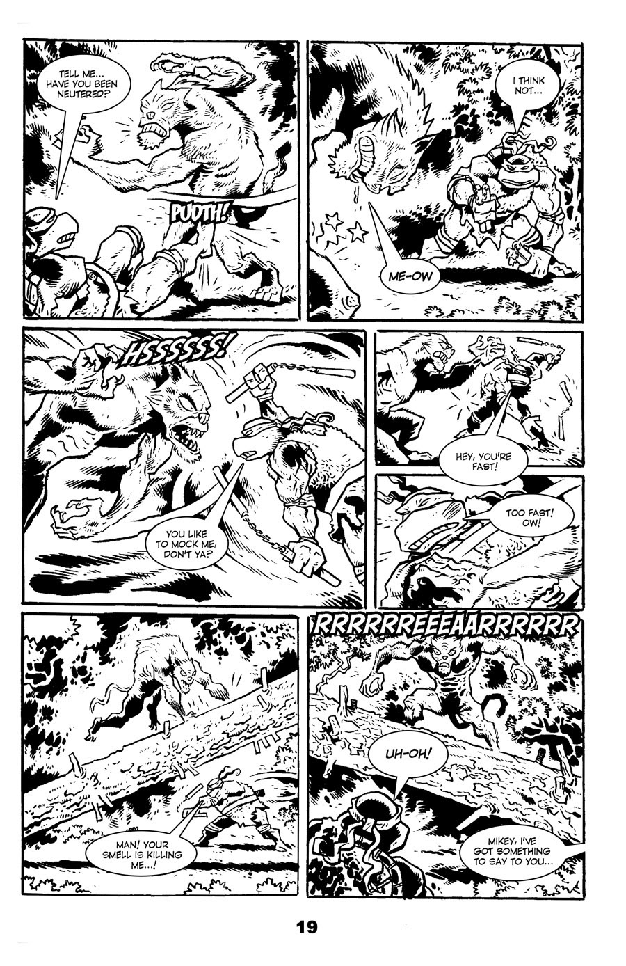 Read online Tales of the TMNT comic -  Issue #71 - 23