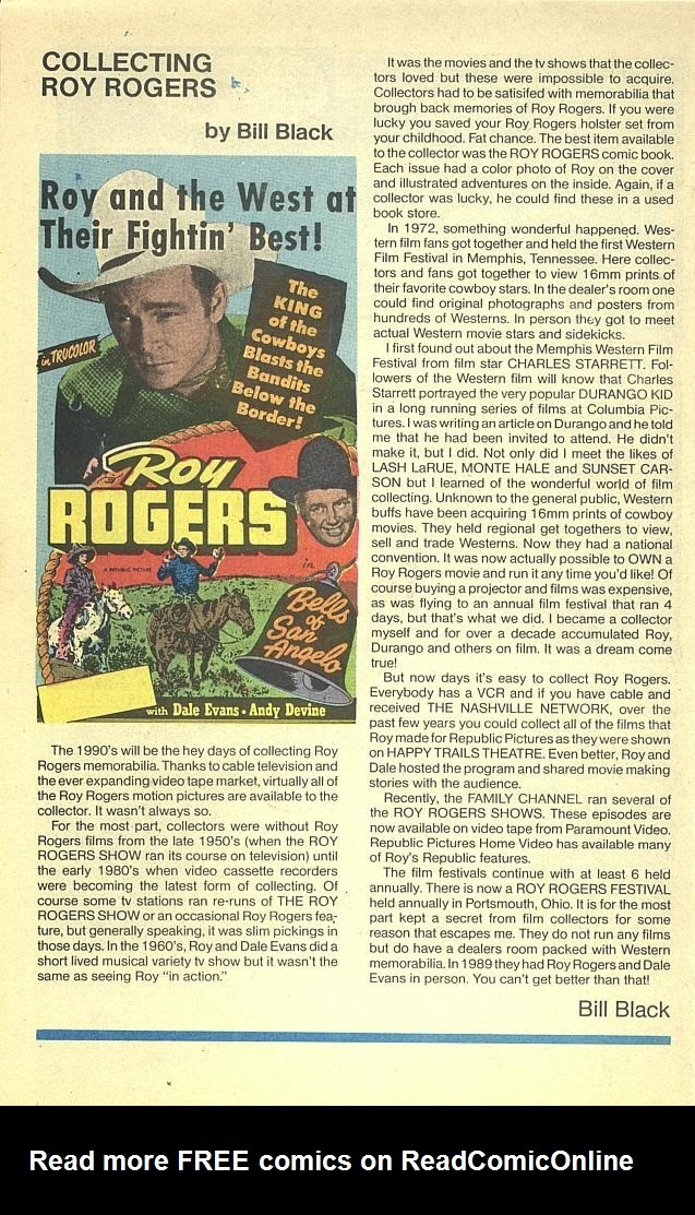 Read online Roy Rogers comic -  Issue #3 - 37