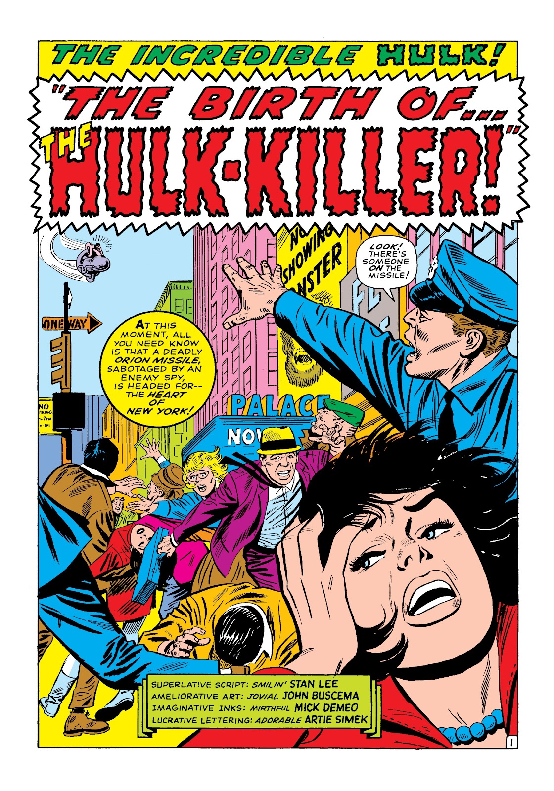 Read online Marvel Masterworks: The Incredible Hulk comic -  Issue # TPB 3 (Part 1) - 74