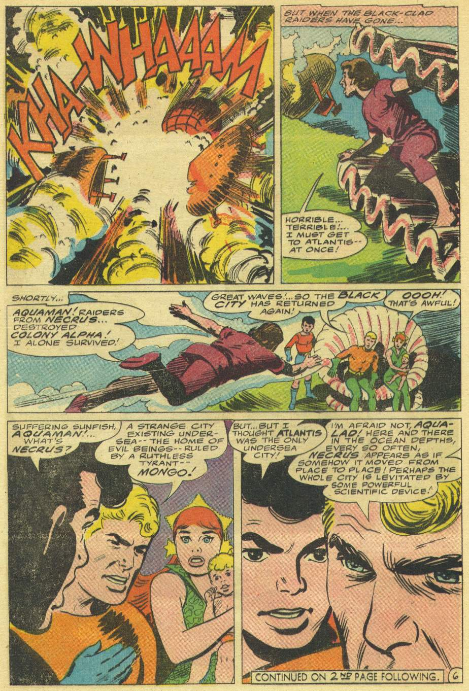 Read online Aquaman (1962) comic -  Issue #30 - 8