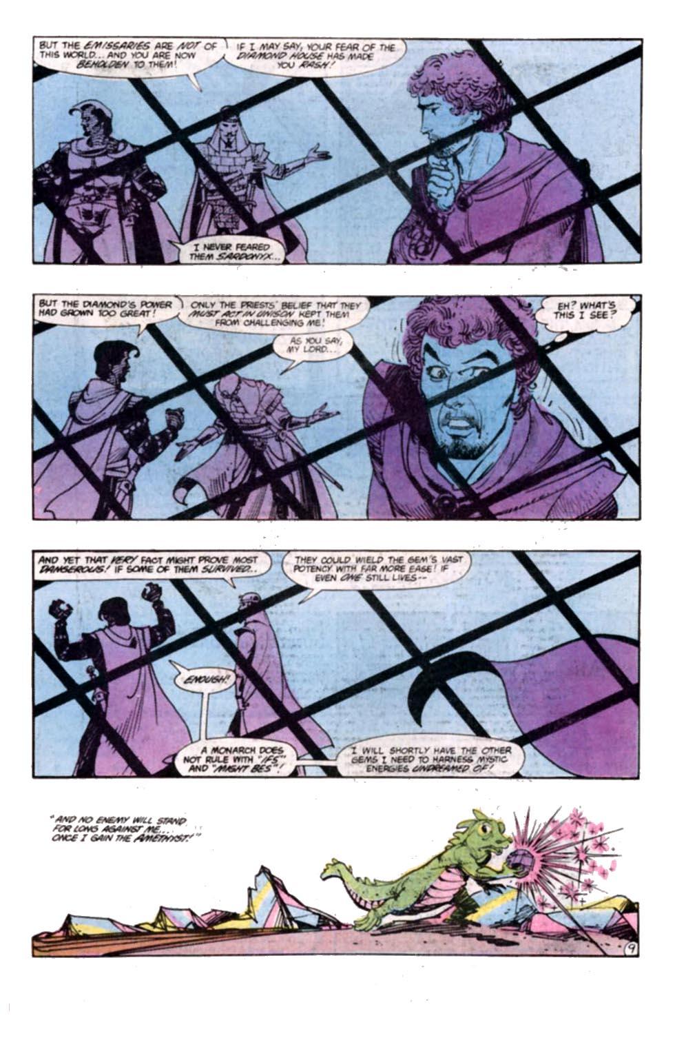 Read online Amethyst, Princess of Gemworld comic -  Issue #8 - 10