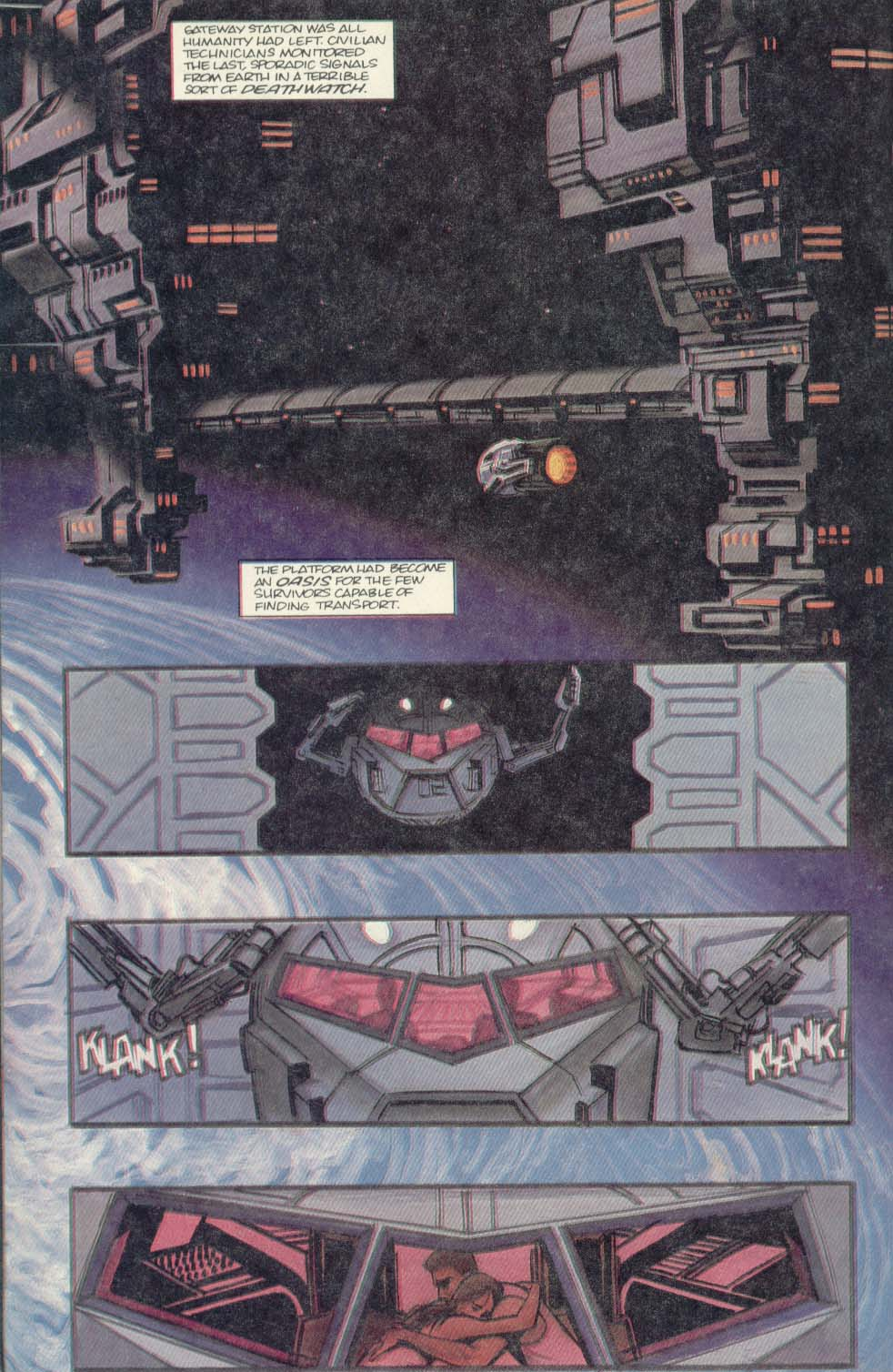 Read online Aliens (1989) comic -  Issue #4 - 24