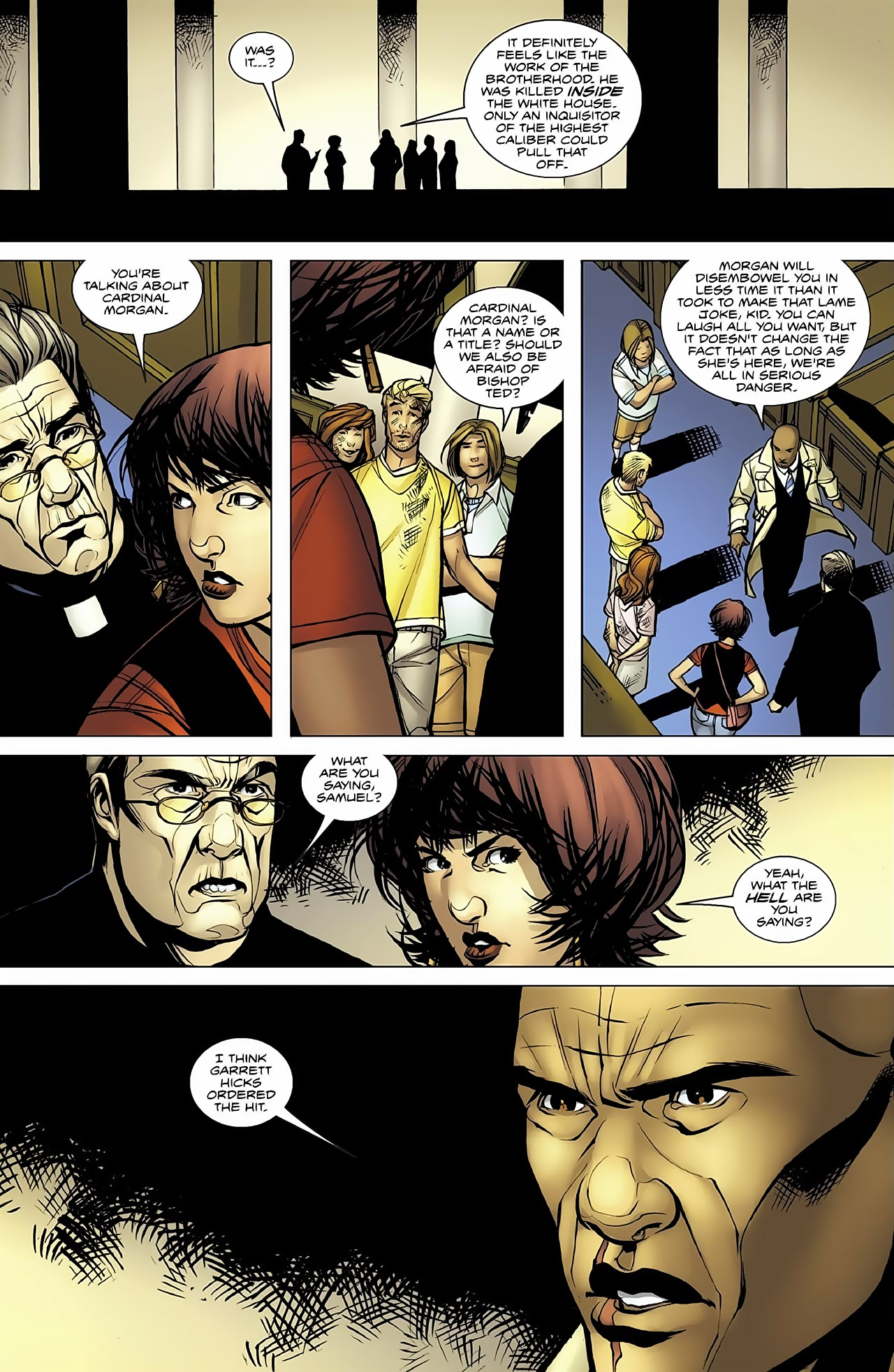 Read online Magus comic -  Issue #4 - 10