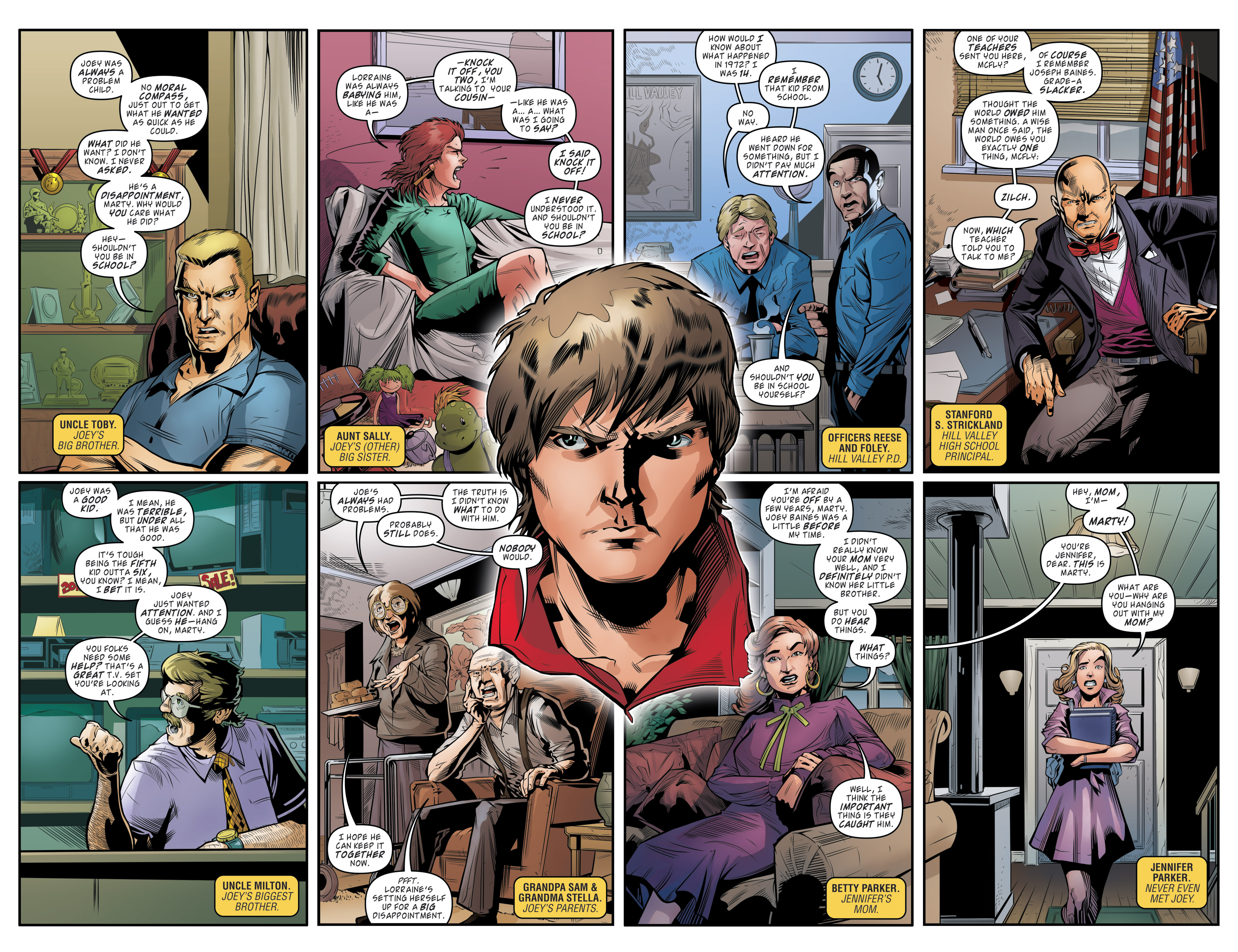 Read online Back to the Future (2015) comic -  Issue #19 - 14