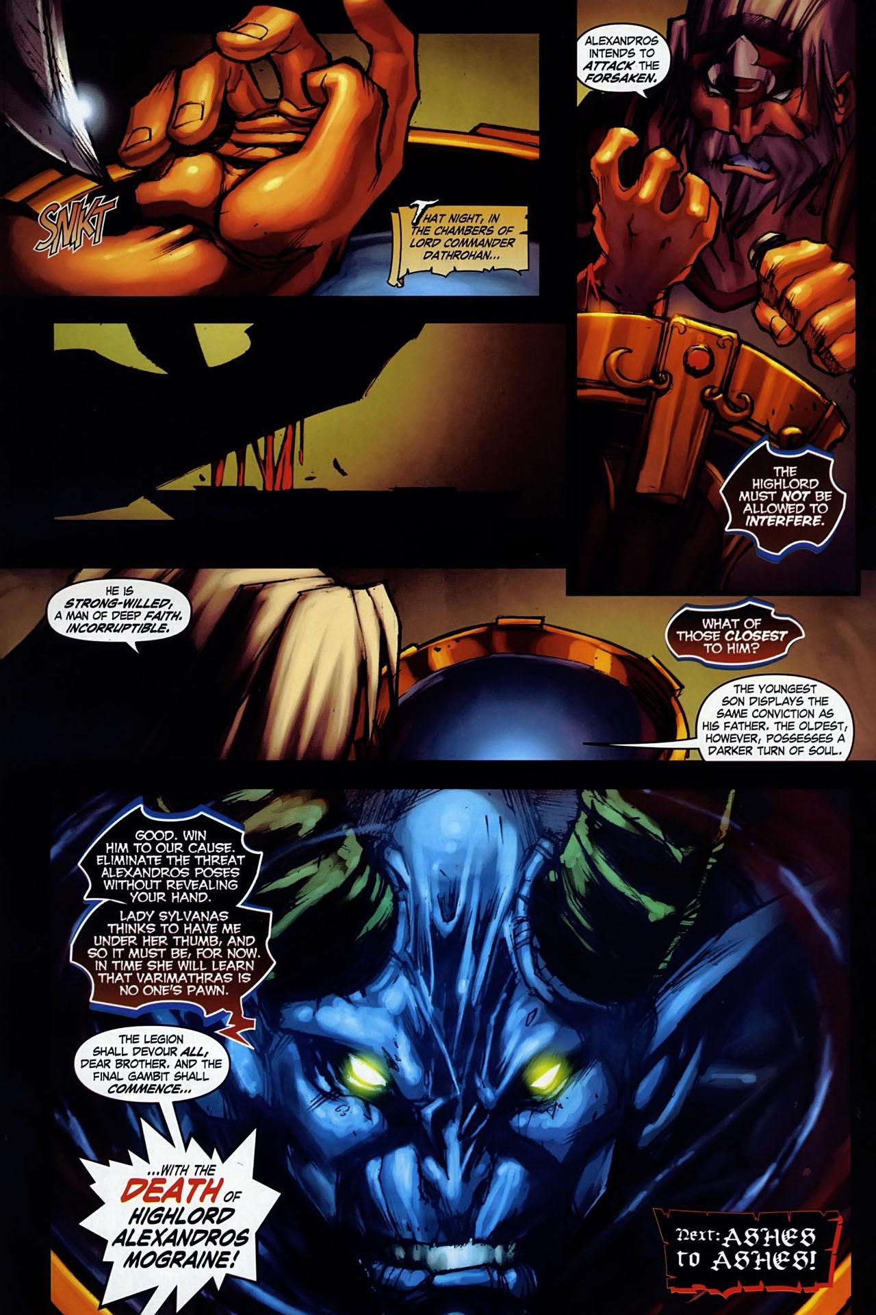 Read online World of Warcraft: Ashbringer comic -  Issue #1 - 28