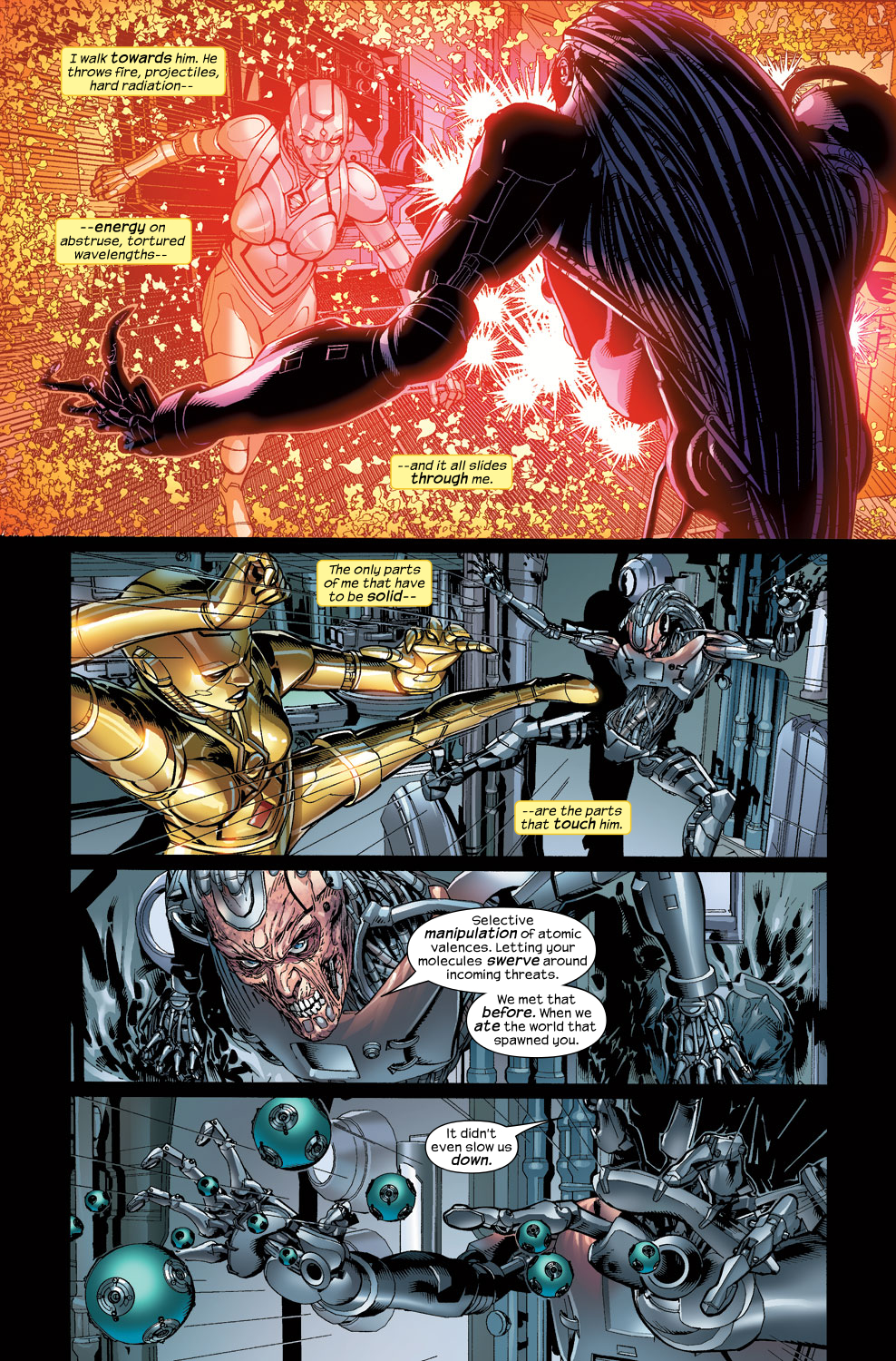 Read online Ultimate Vision comic -  Issue #3 - 16