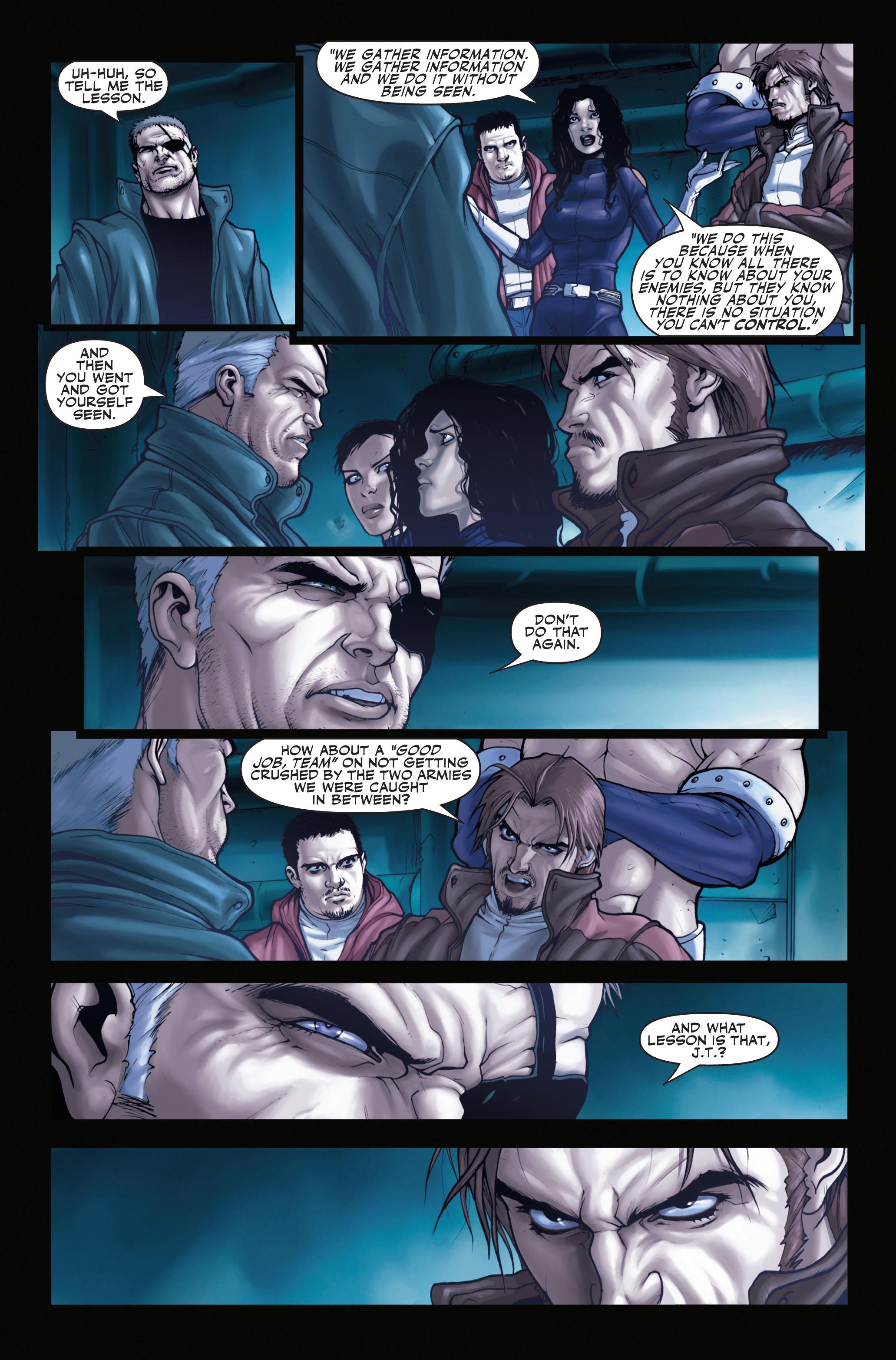 Read online Secret Warriors comic -  Issue #1 - 11