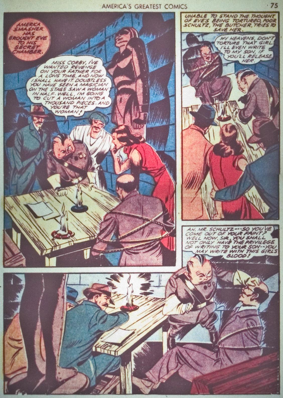Read online America's Greatest Comics comic -  Issue #1 - 78