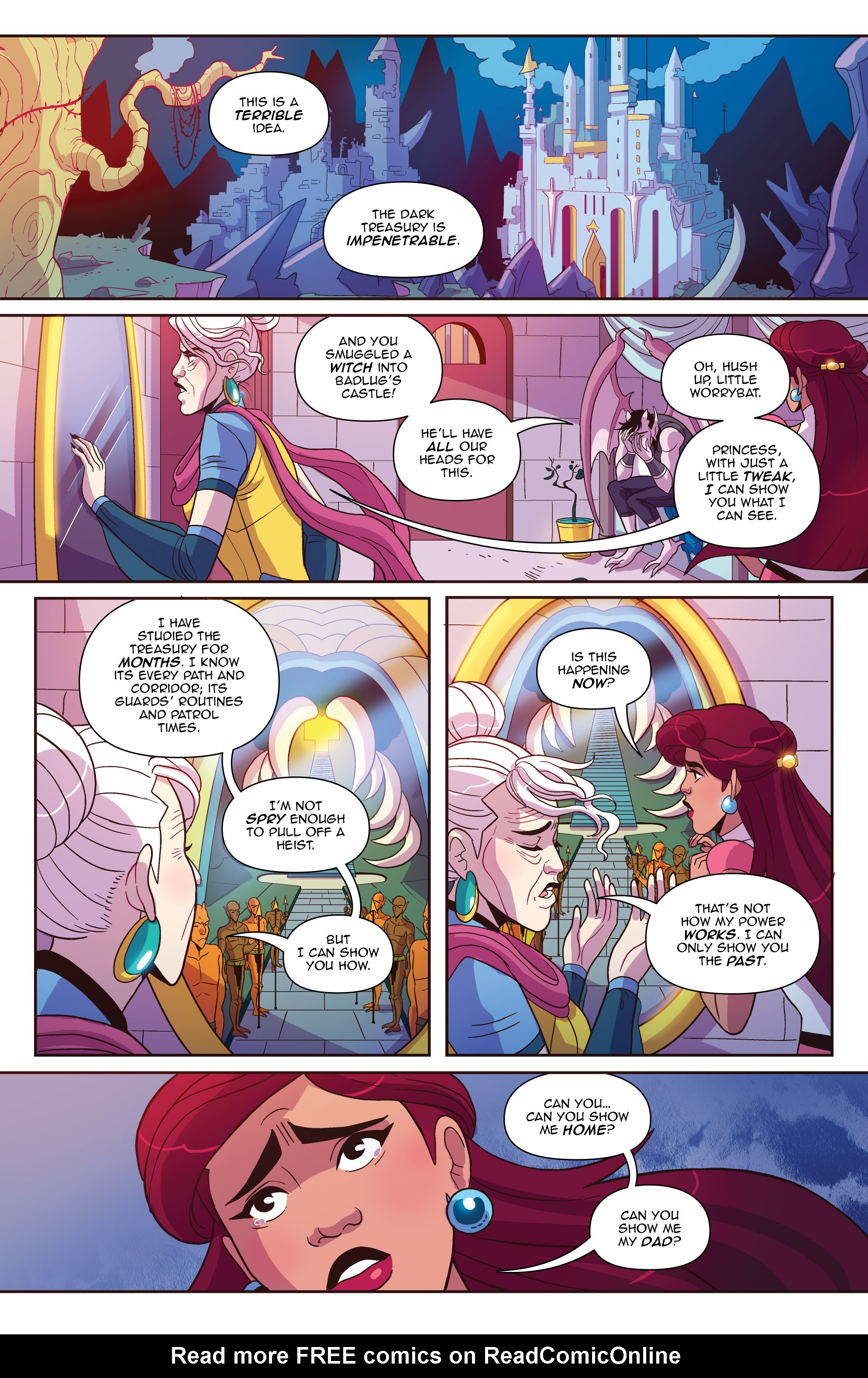 Read online Another Castle comic -  Issue #2 - 15