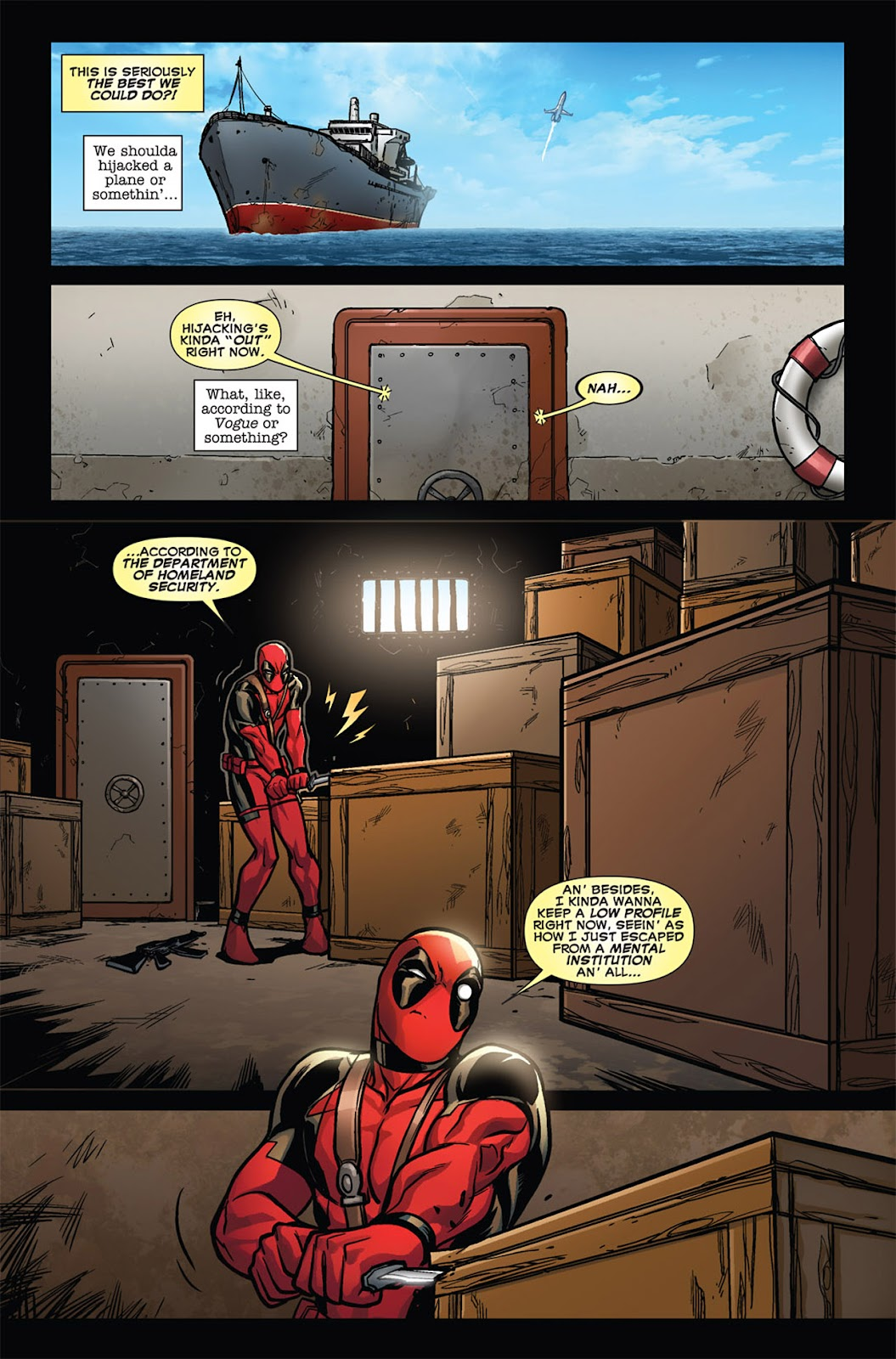 Read online Deadpool (2008) comic -  Issue #45 - 5
