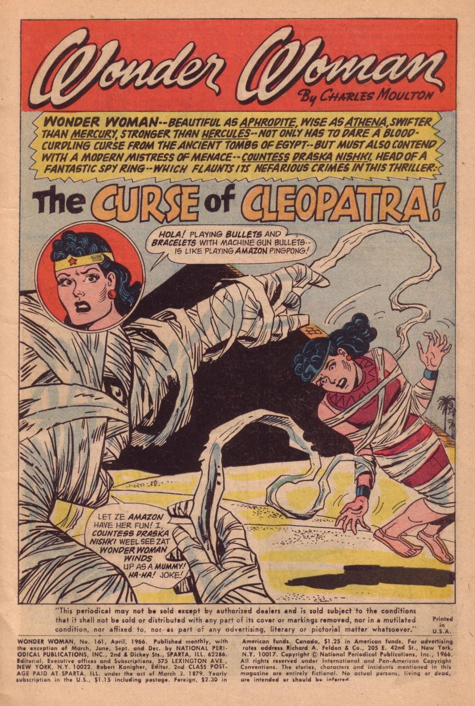 Read online Wonder Woman (1942) comic -  Issue #161 - 3