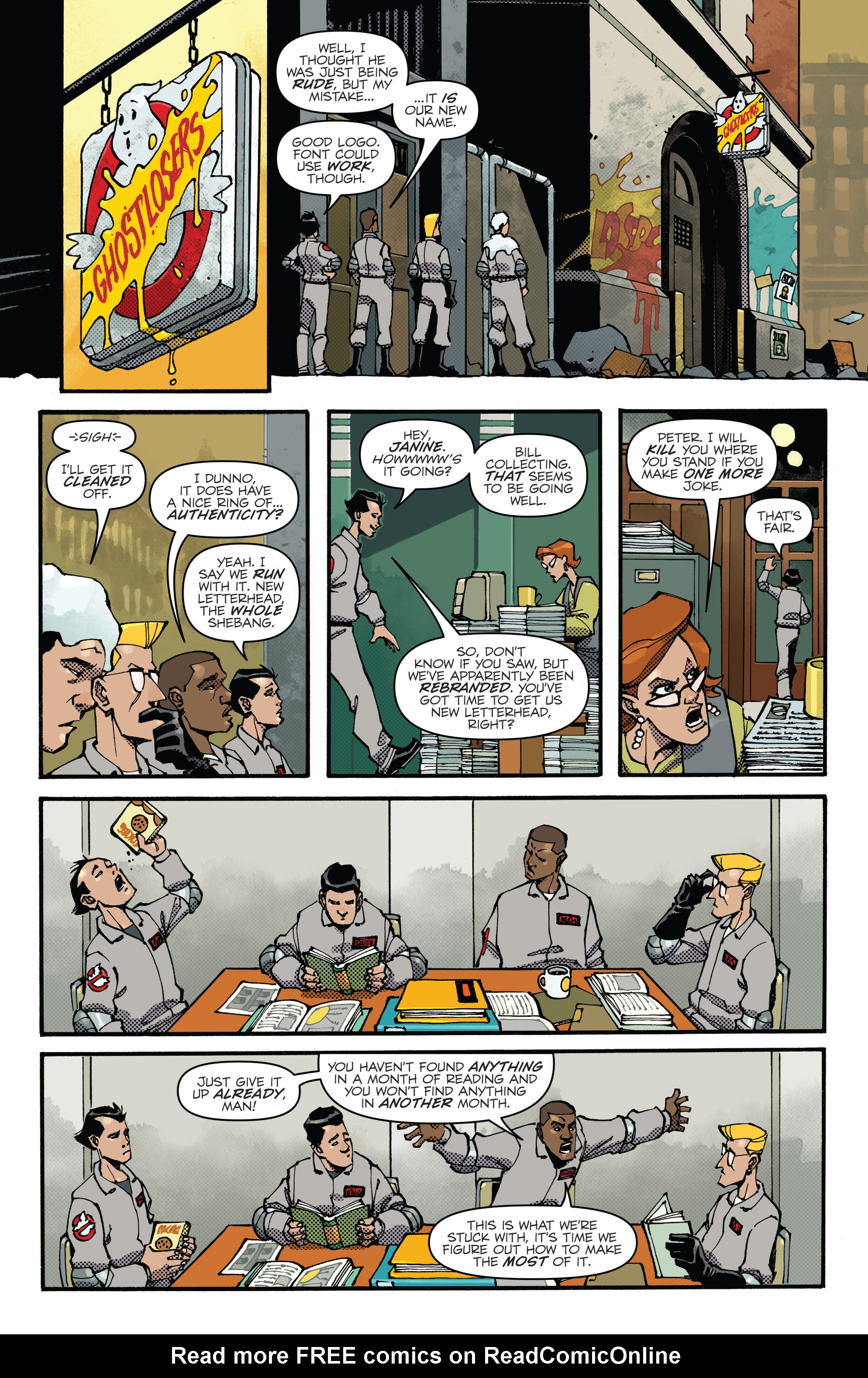 Read online Ghostbusters: Deviations comic -  Issue #1 - 6