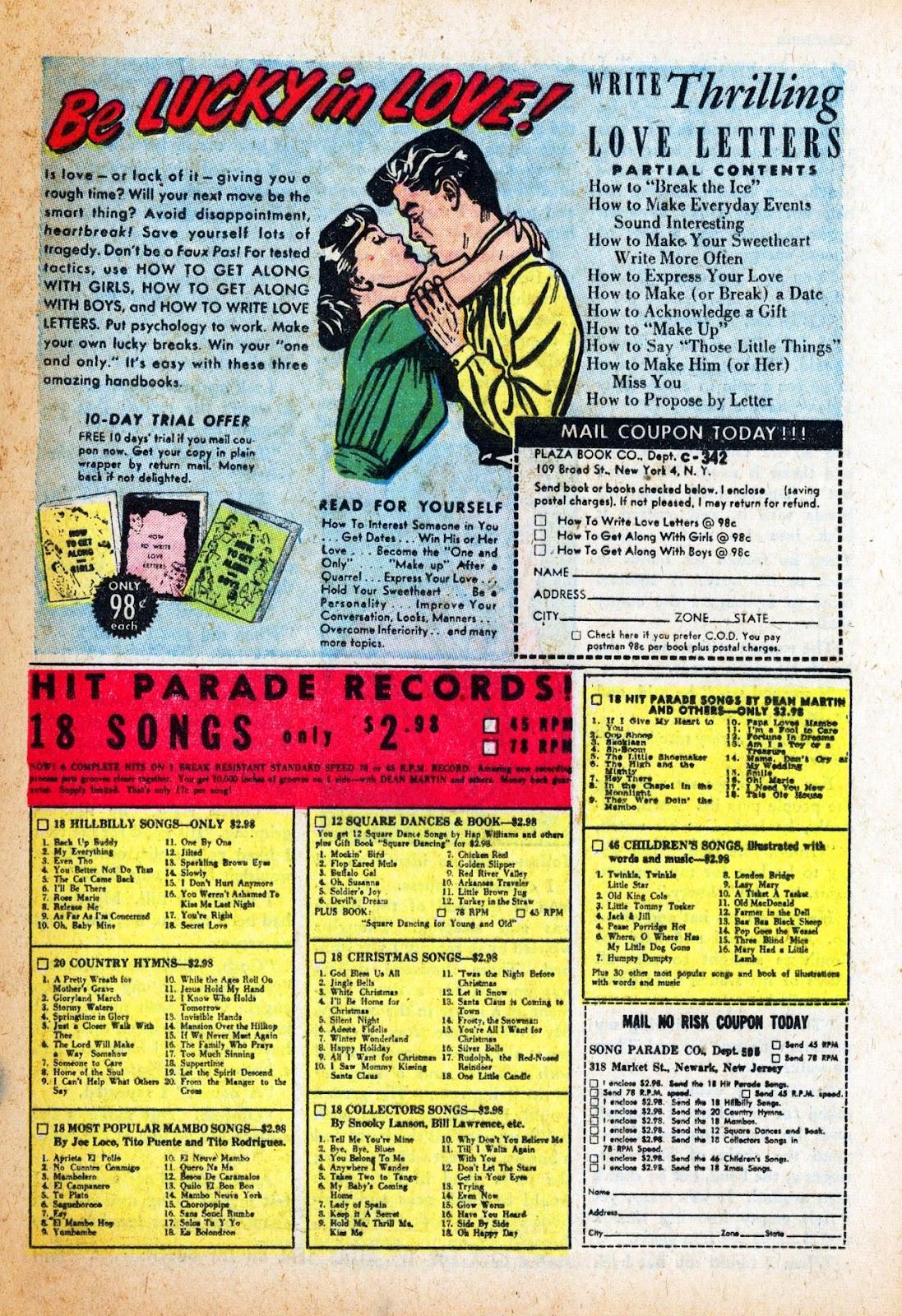 Love Romances (1949) issue 47 - Page 25