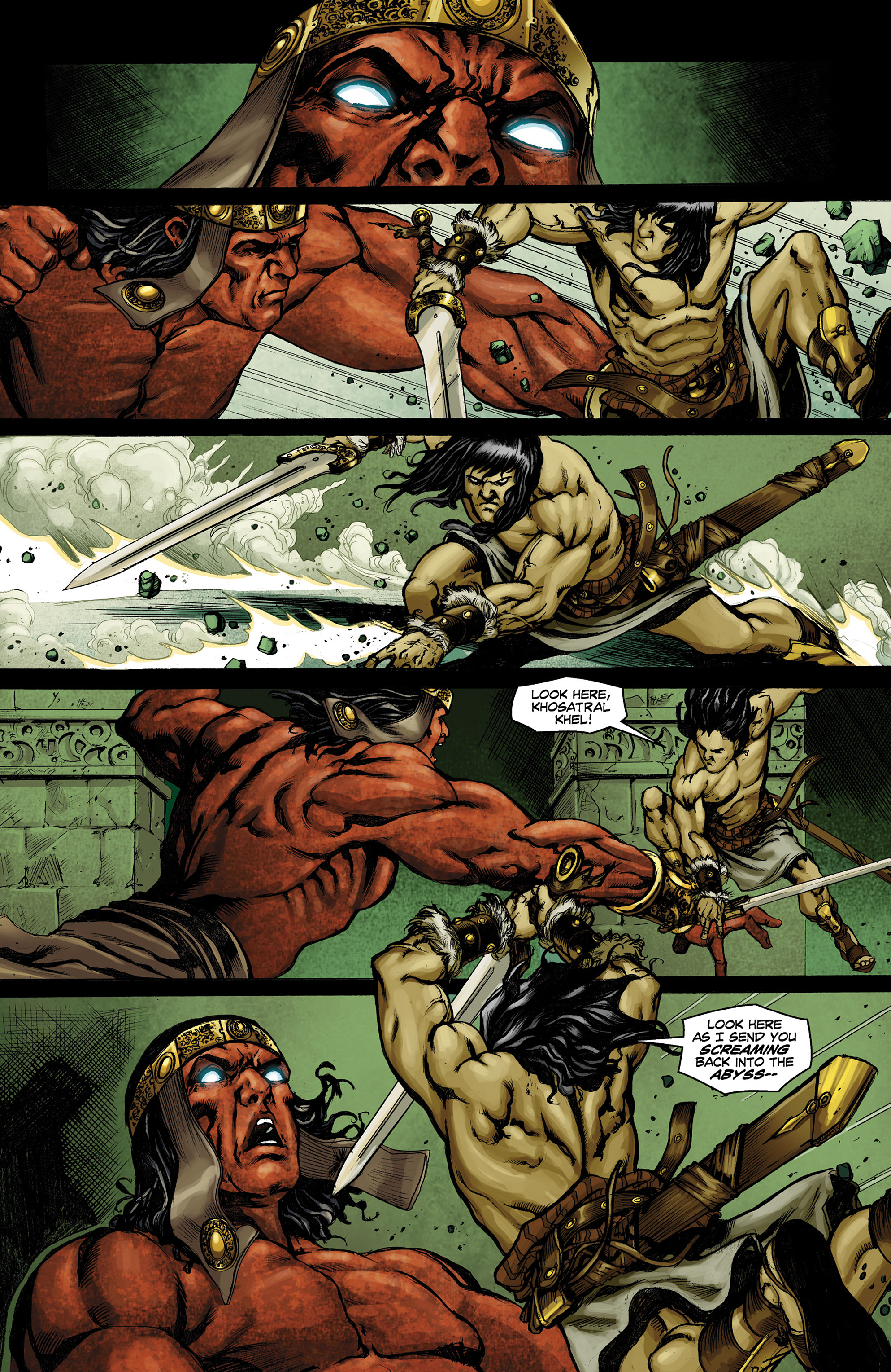 Read online Conan The Slayer comic -  Issue #9 - 21