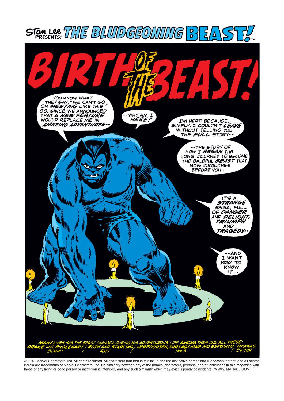 Read online Amazing Adventures (1970) comic -  Issue #17 - 2