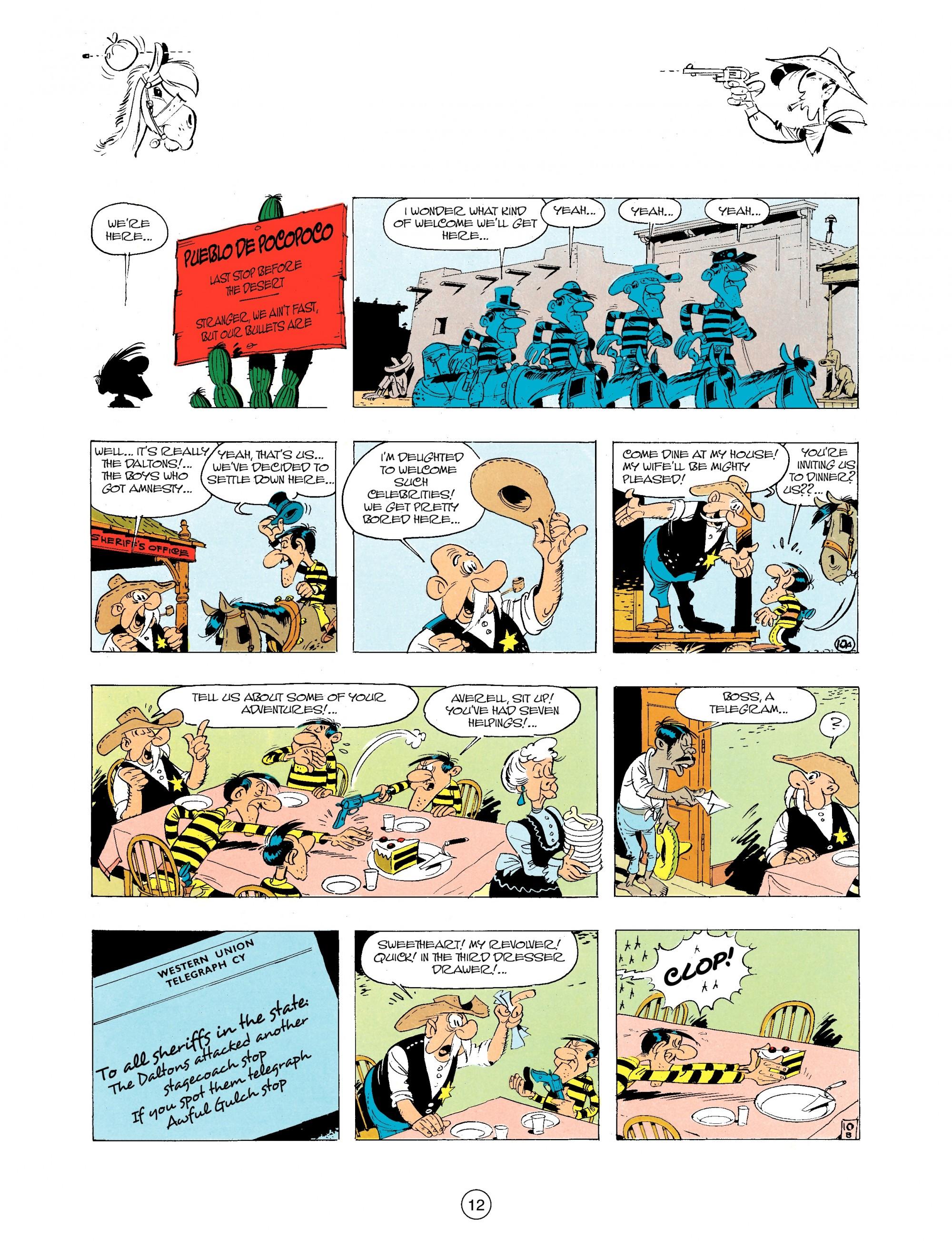 Read online A Lucky Luke Adventure comic -  Issue #34 - 12