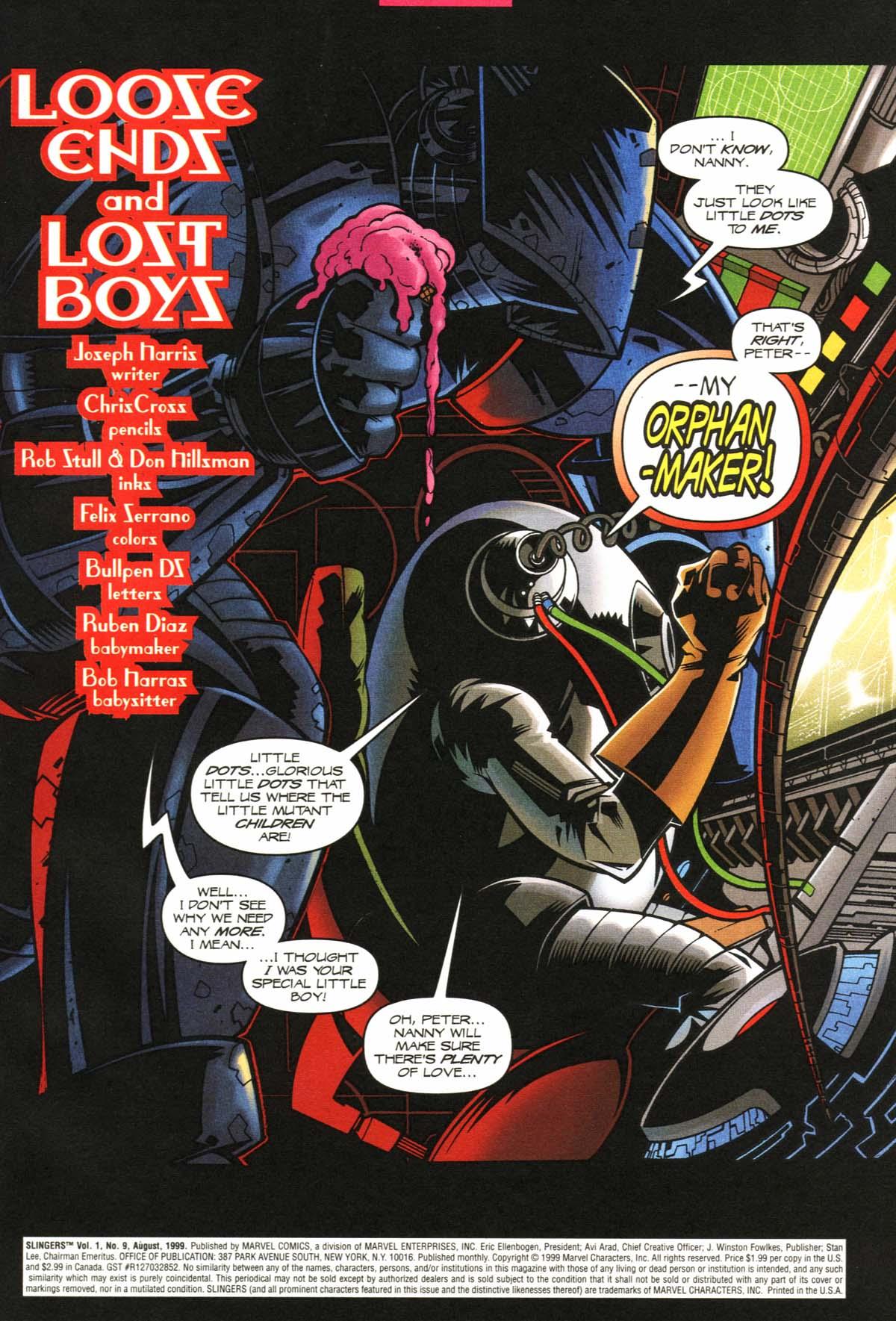 Read online Slingers comic -  Issue #9 - 4