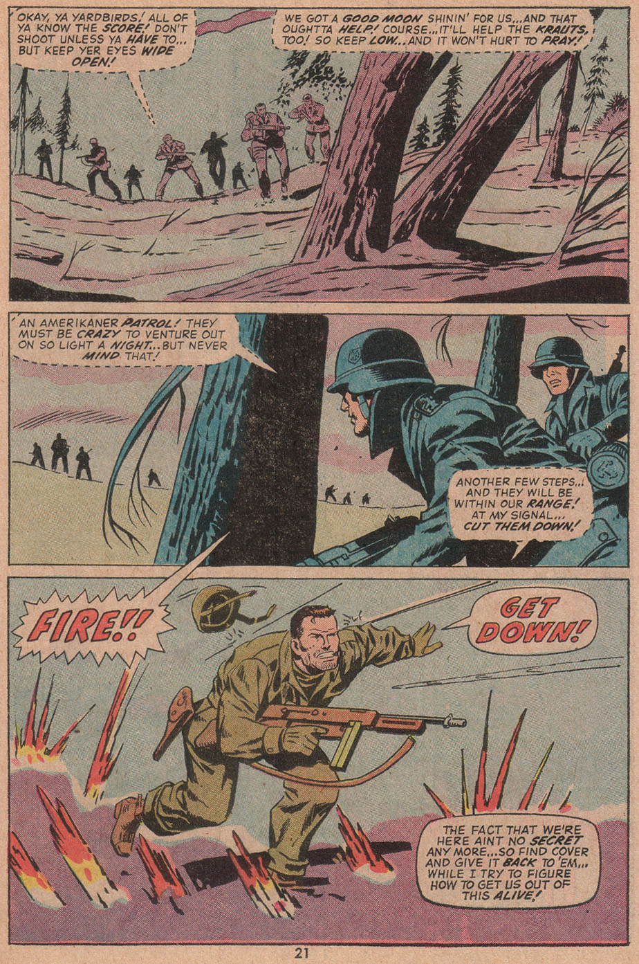 Read online Sgt. Fury comic -  Issue #104 - 23