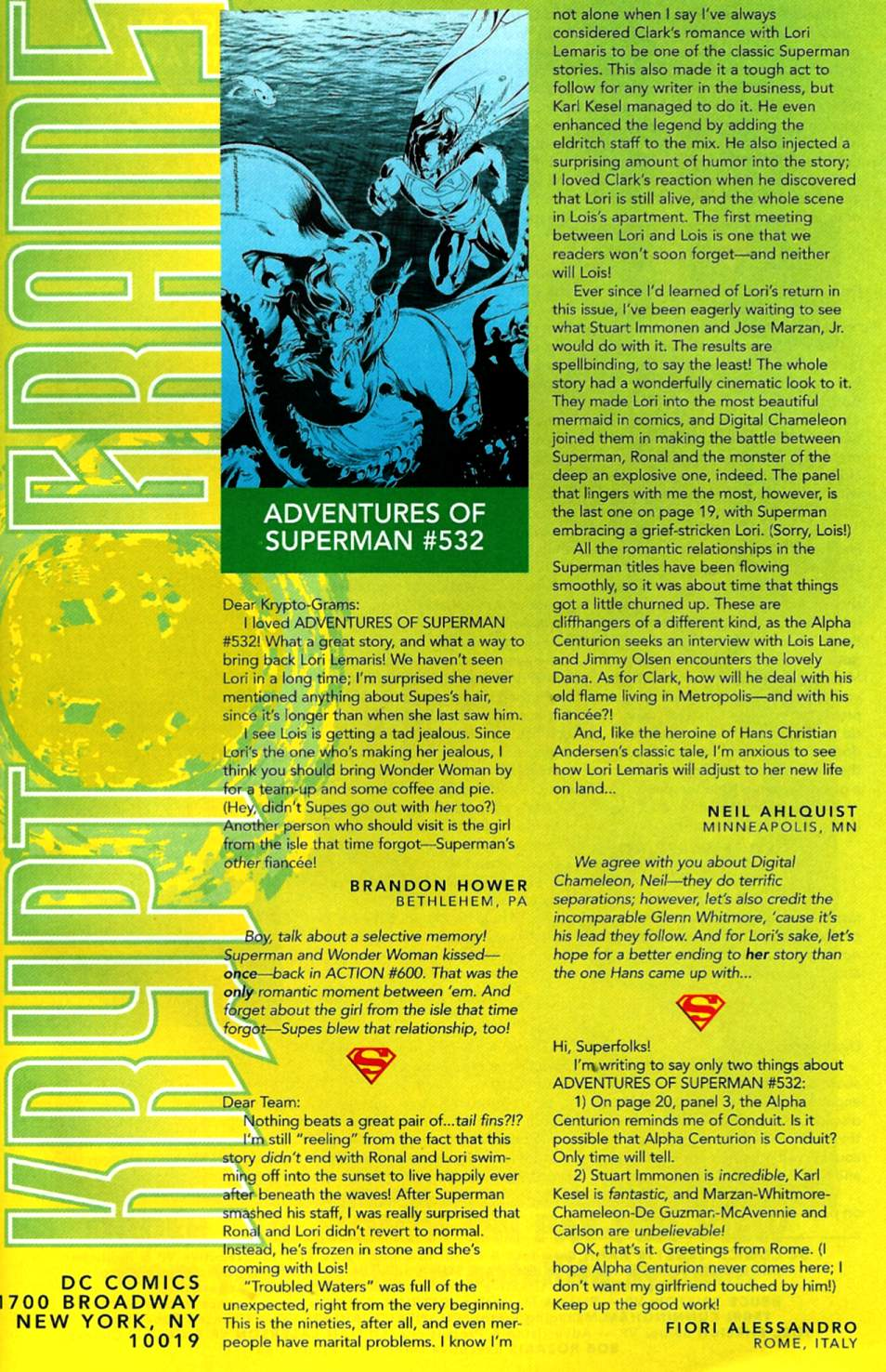 Read online Adventures of Superman (1987) comic -  Issue #536 - 24
