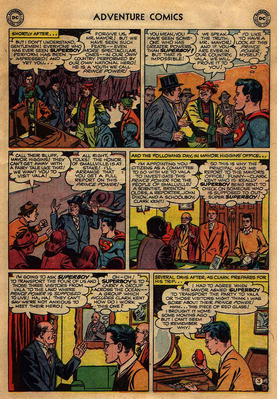 Read online Adventure Comics (1938) comic -  Issue #175 - 5