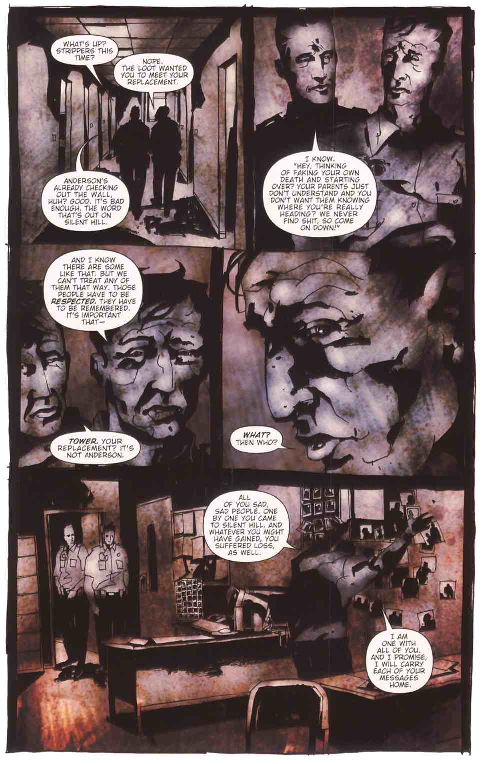 Read online Silent Hill: The Grinning Man comic -  Issue # Full - 13