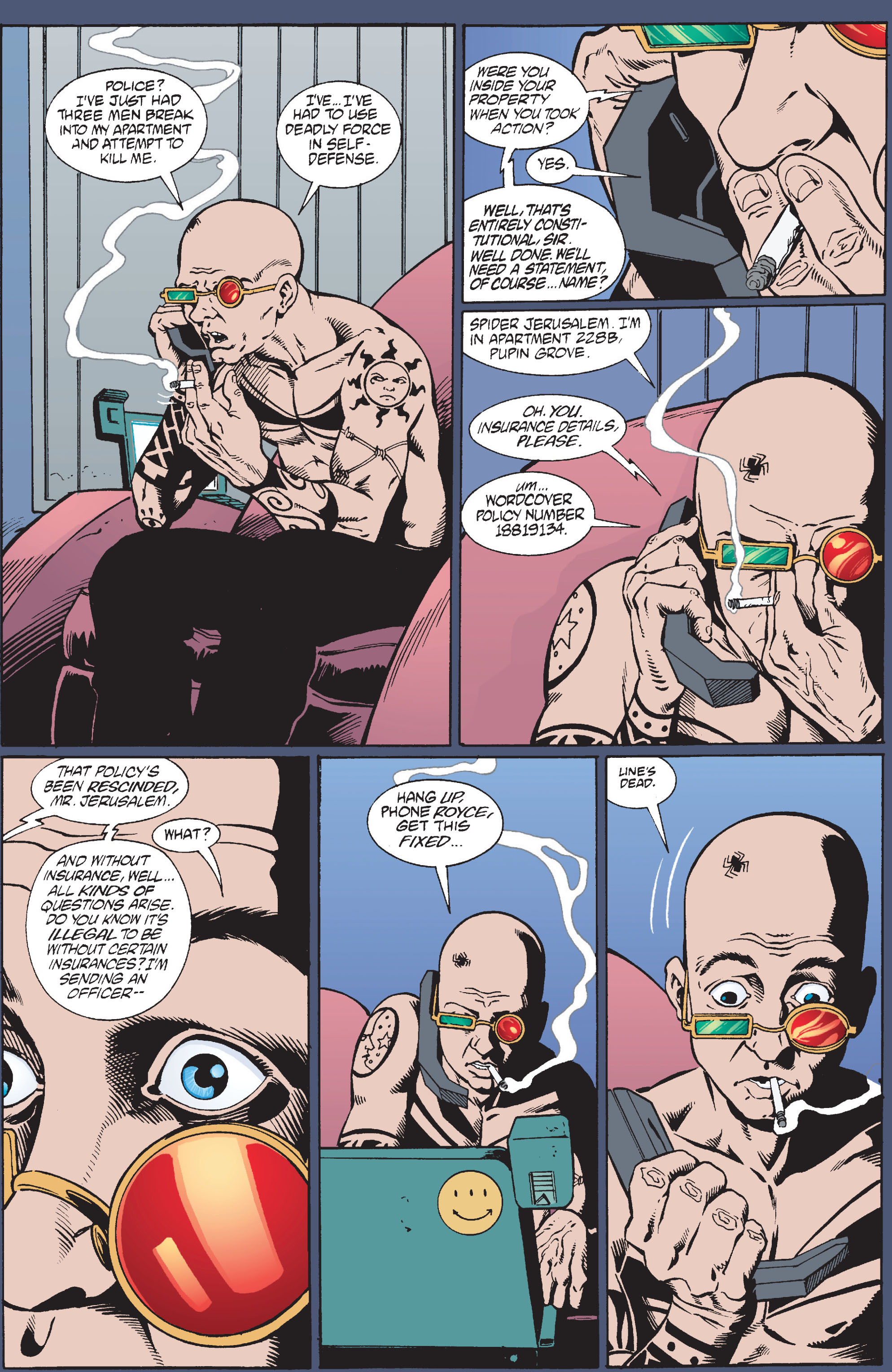 Read online Transmetropolitan comic -  Issue #10 - 16