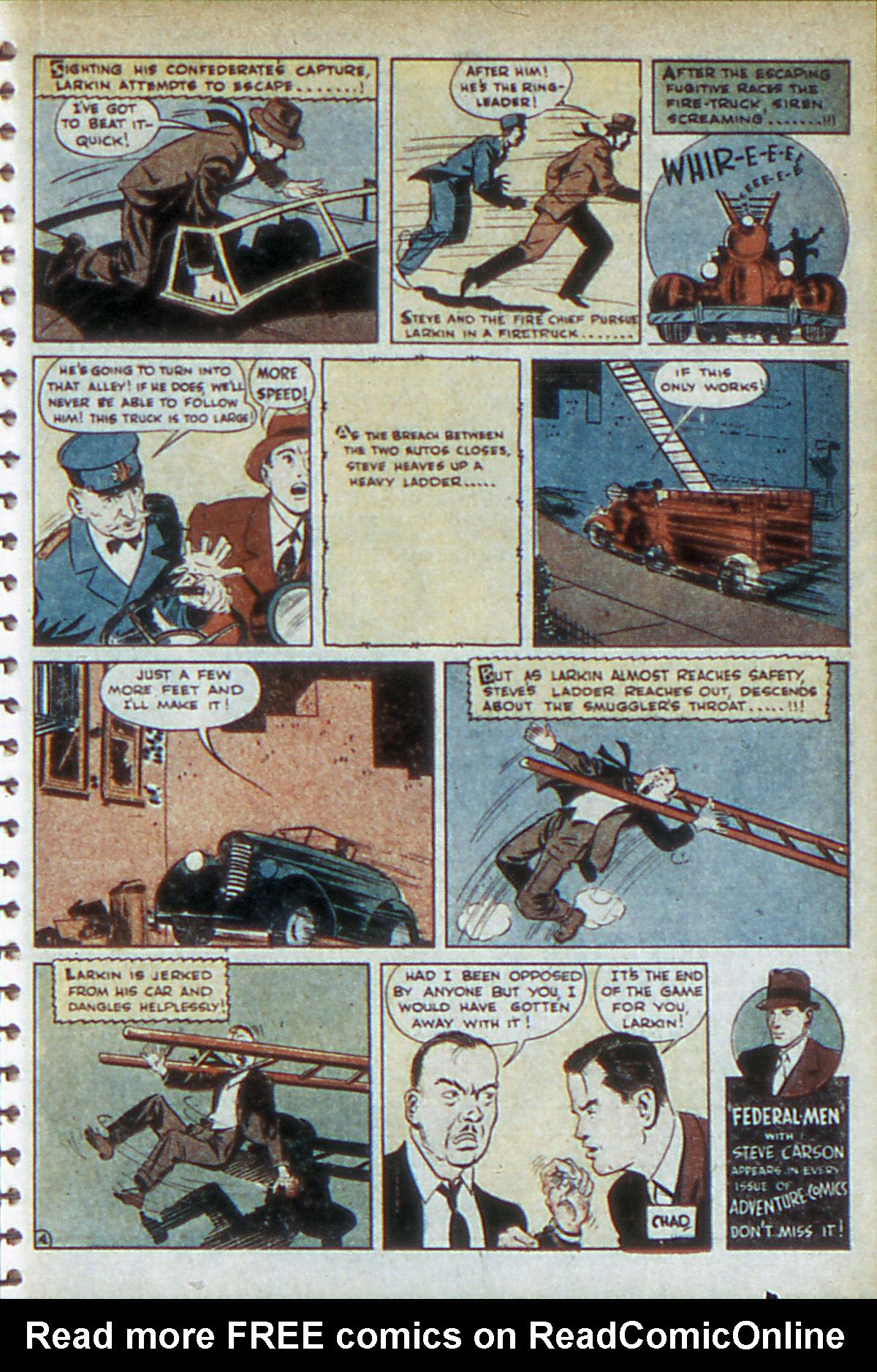 Read online Adventure Comics (1938) comic -  Issue #52 - 39