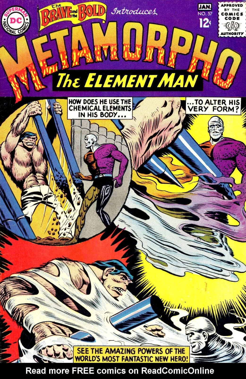 The Brave and the Bold (1955) issue 57 - Page 1