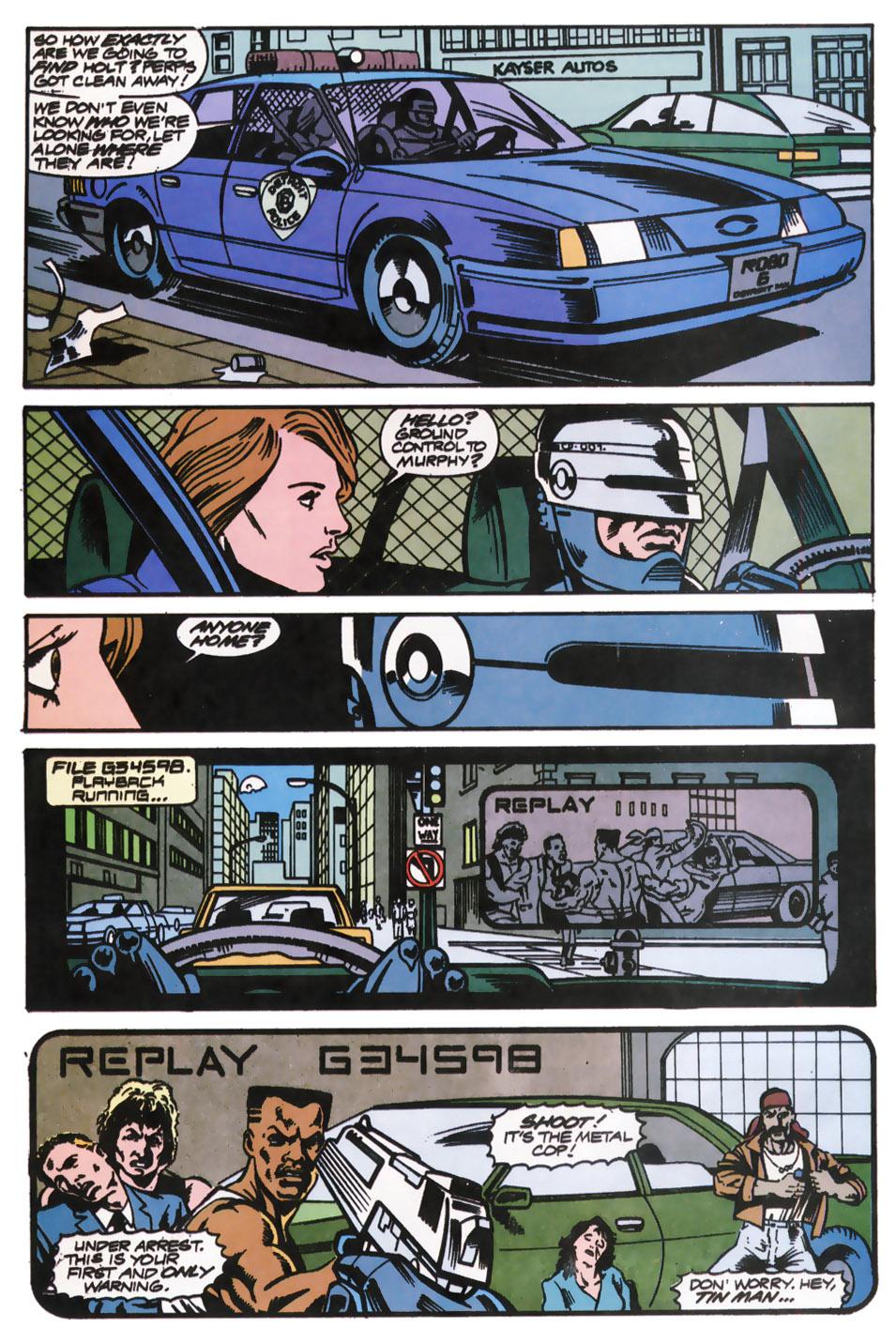 Read online Robocop (1990) comic -  Issue #12 - 8