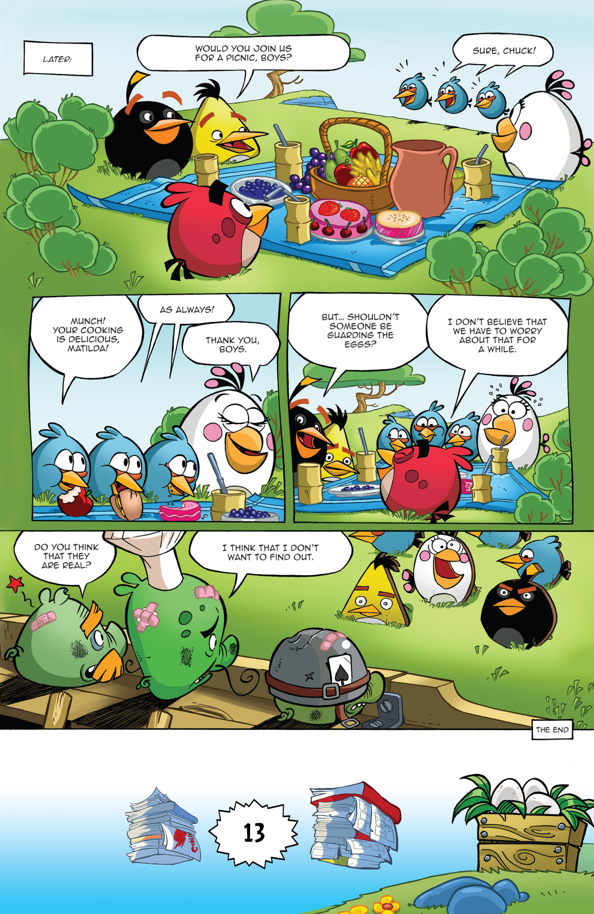 Read online Angry Birds Comics (2016) comic -  Issue #6 - 15