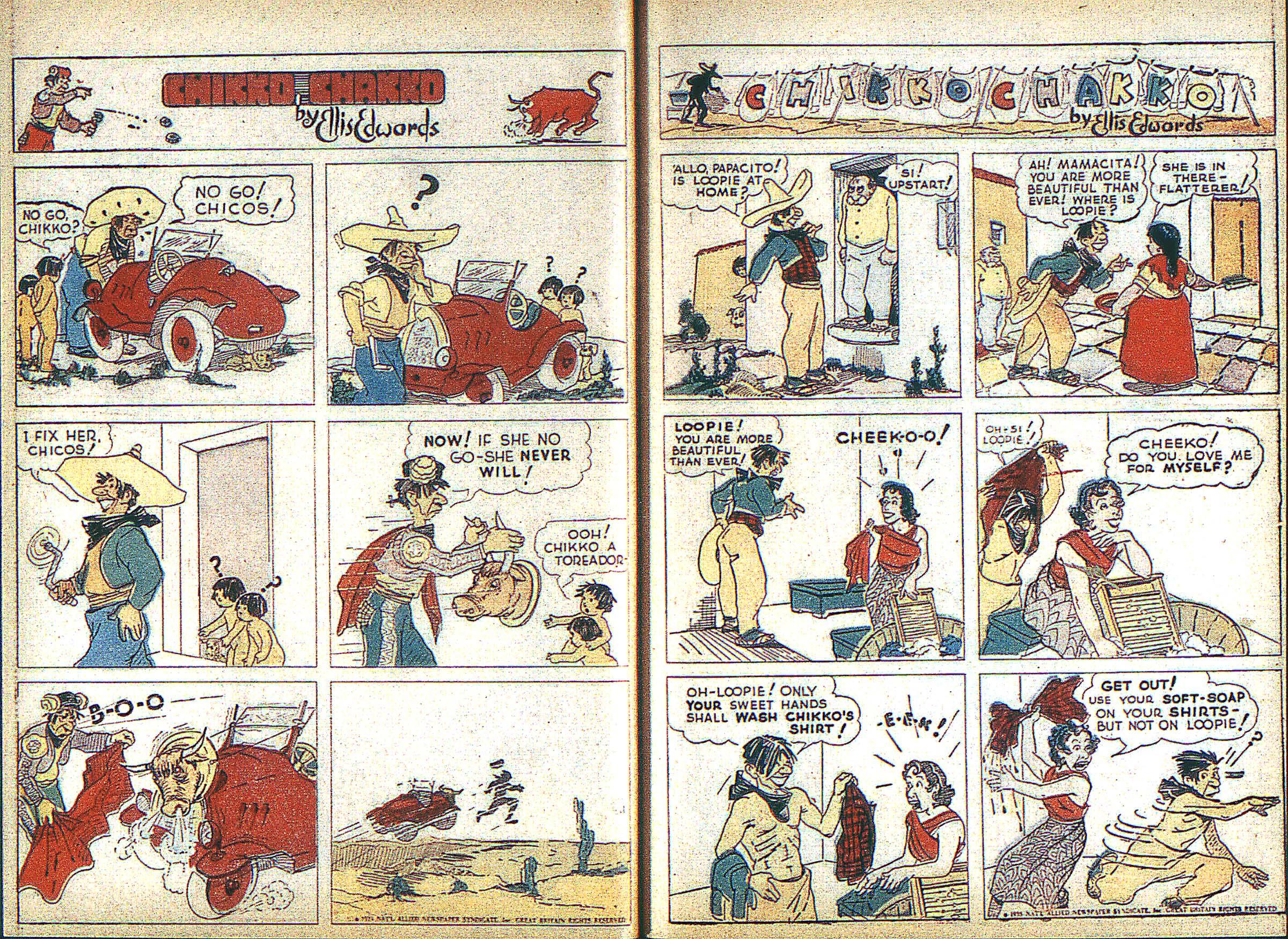 Read online Adventure Comics (1938) comic -  Issue #3 - 16