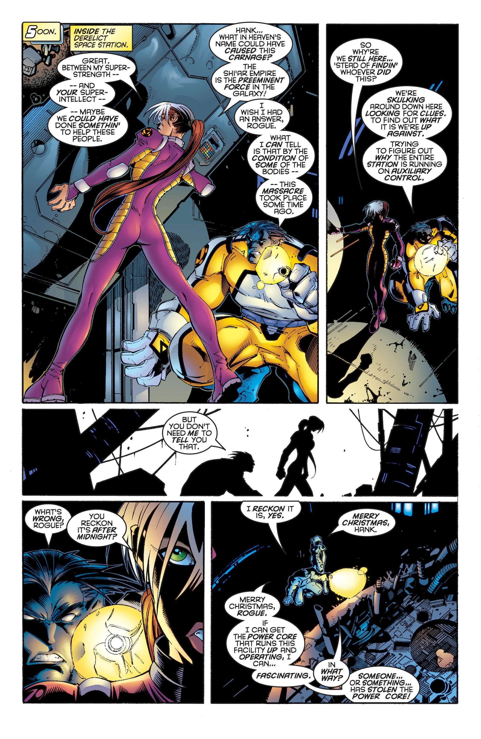 Read online Uncanny X-Men (1963) comic -  Issue #342 - 19