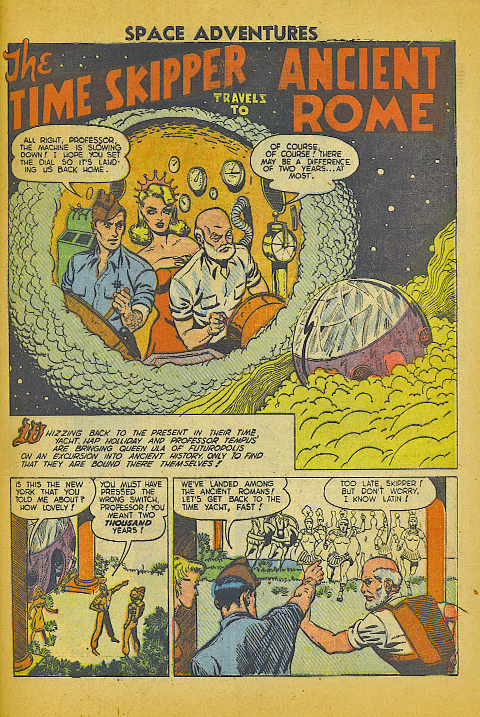 Space Adventures (1952) issue 3 - Page 26