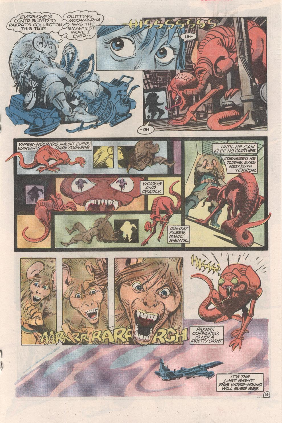 Read online Atari Force (1984) comic -  Issue #2 - 16