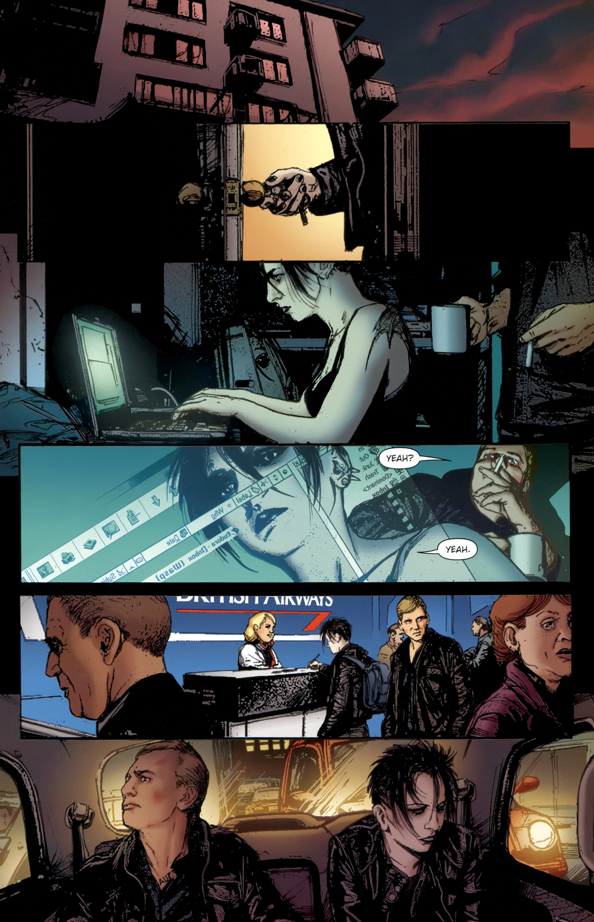 Read online The Girl With the Dragon Tattoo comic -  Issue # TPB 2 - 123