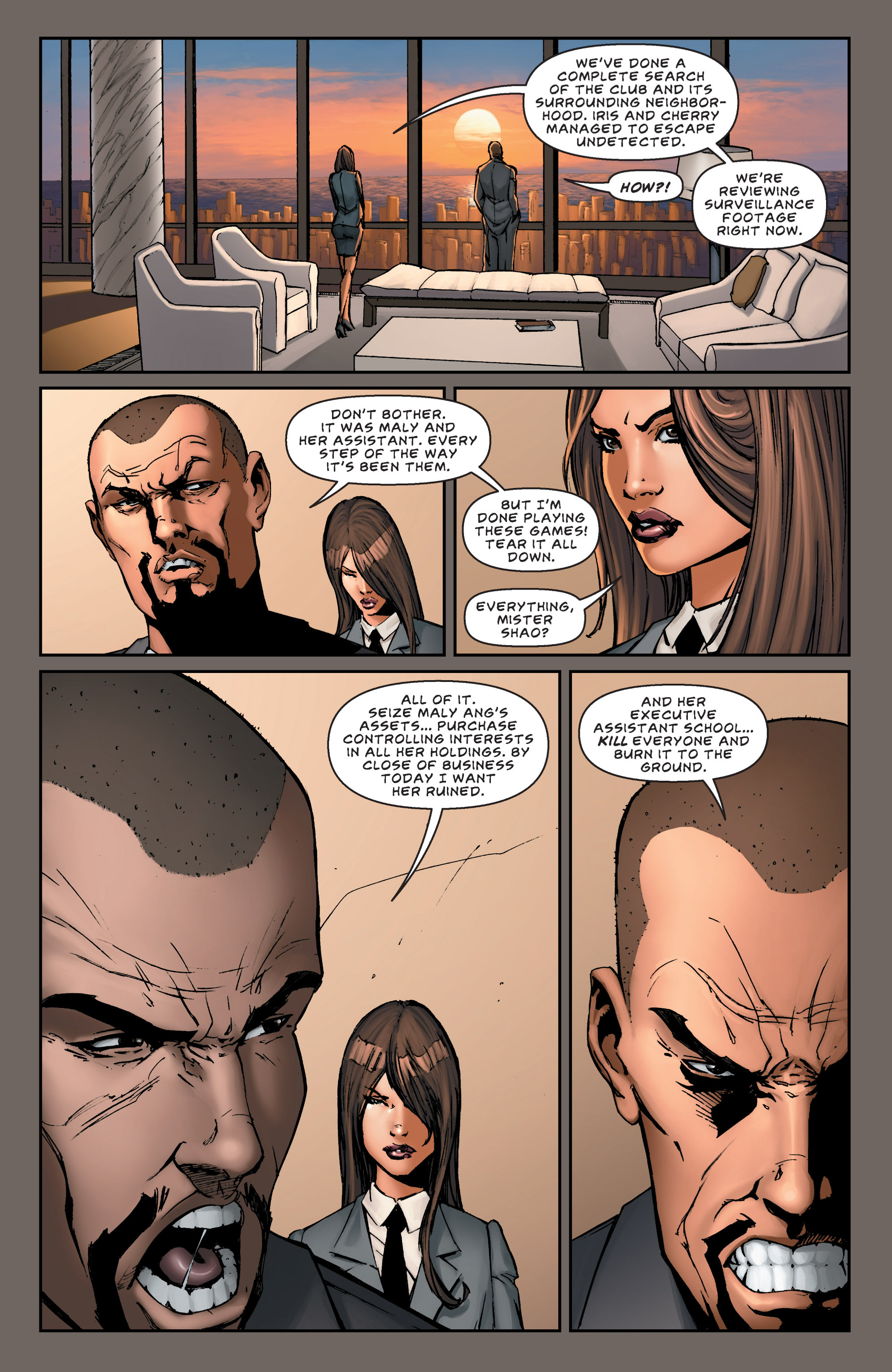 Read online All New Executive Assistant: Iris comic -  Issue #5 - 4