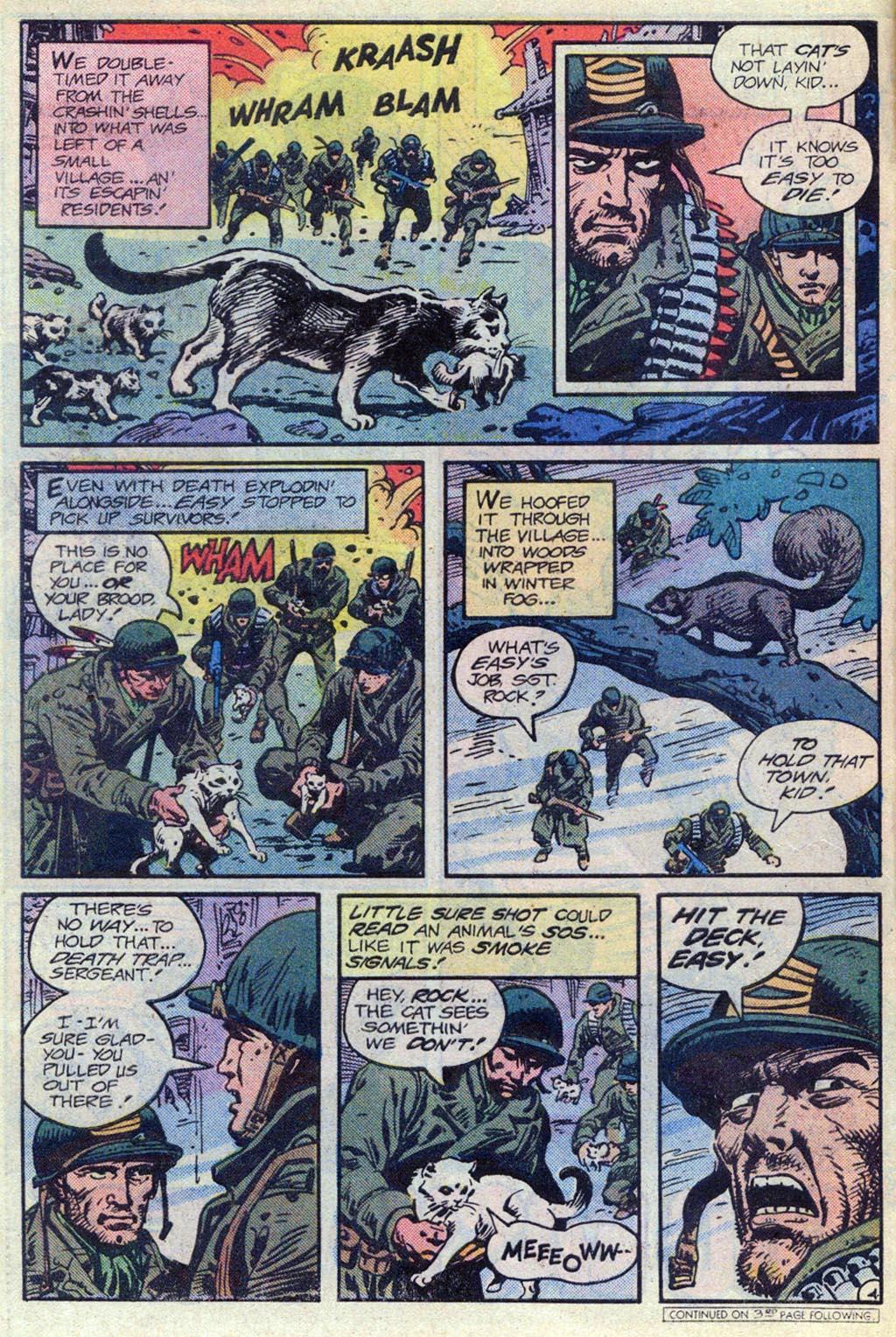 Read online Sgt. Rock comic -  Issue #369 - 4