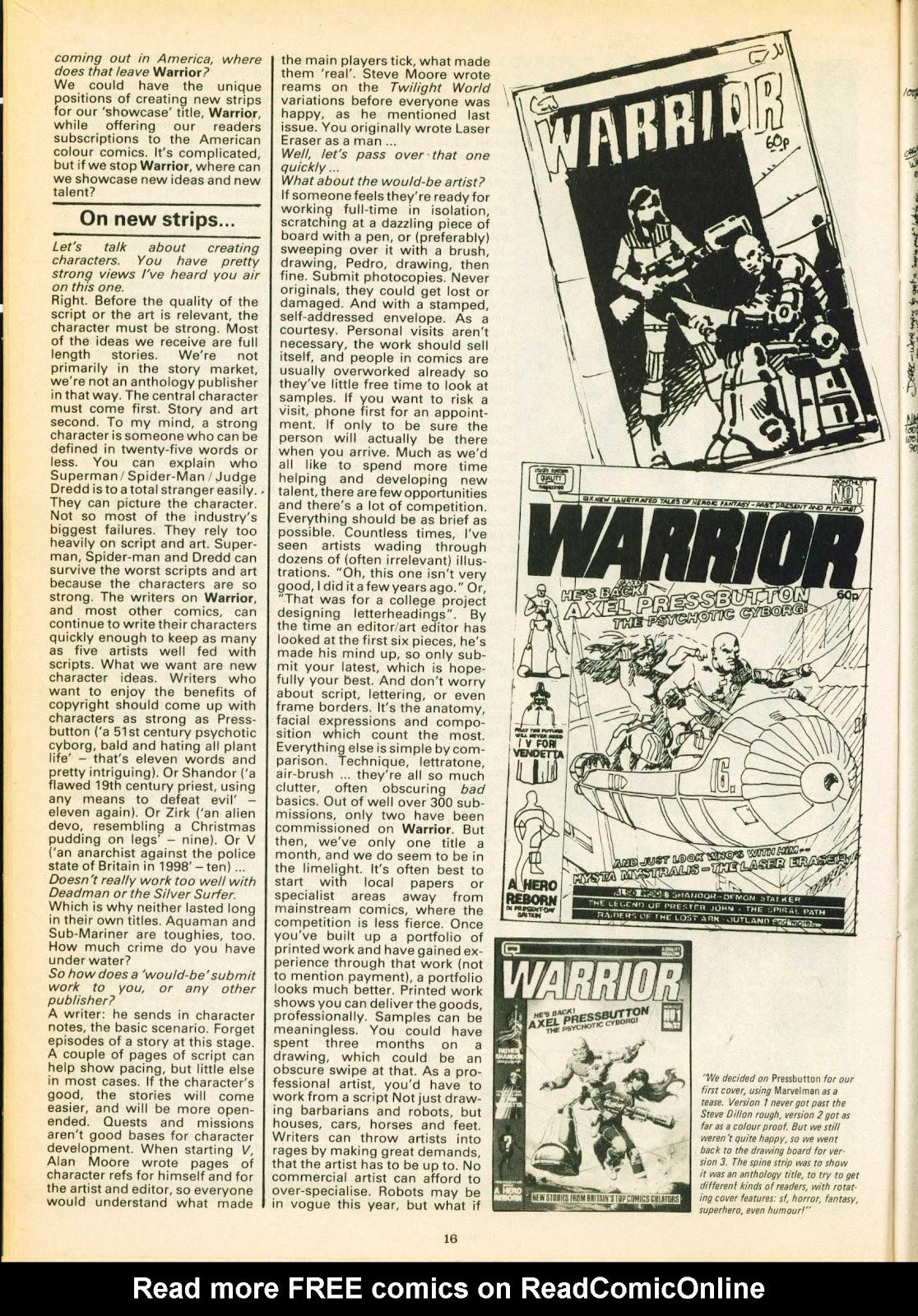 Warrior Issue #16 #17 - English 16