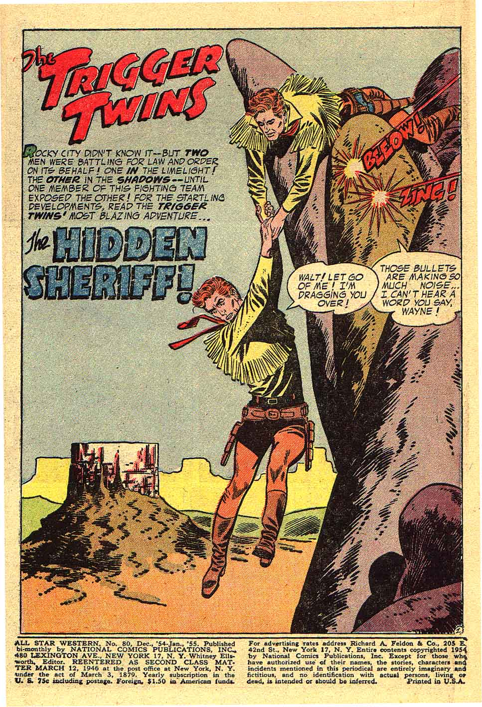 Read online All-Star Western (1951) comic -  Issue #80 - 3