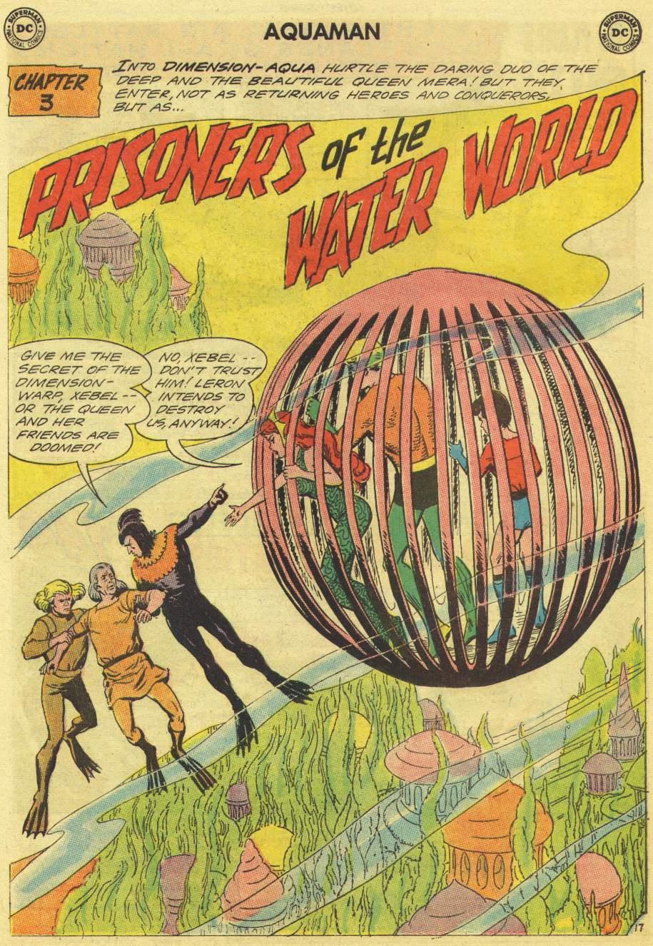 Read online Aquaman (1962) comic -  Issue #11 - 24