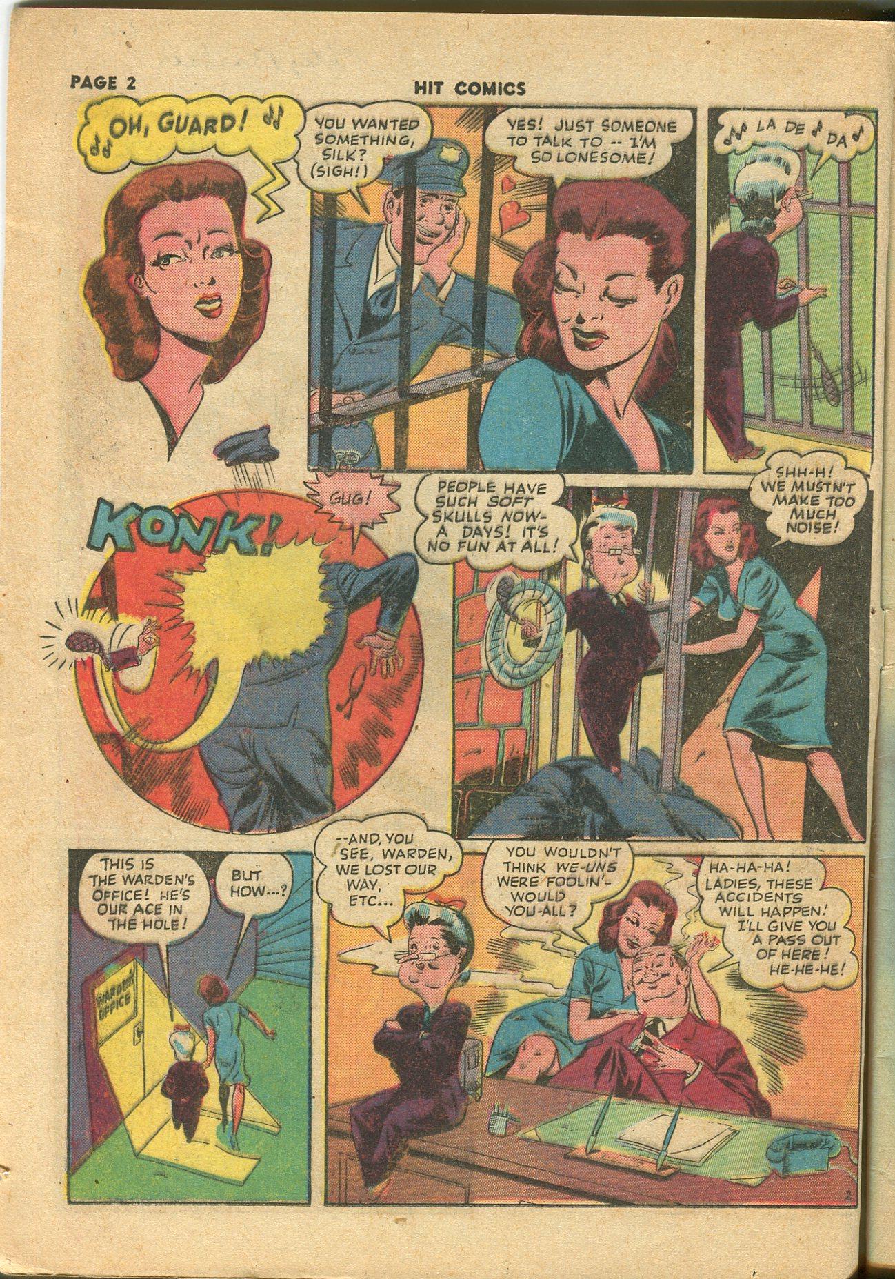 Read online Hit Comics comic -  Issue #28 - 5