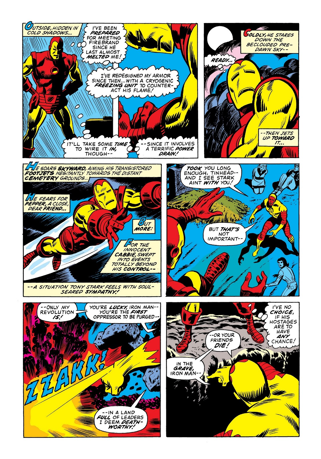 Read online Marvel Masterworks: The Invincible Iron Man comic -  Issue # TPB 9 (Part 2) - 24
