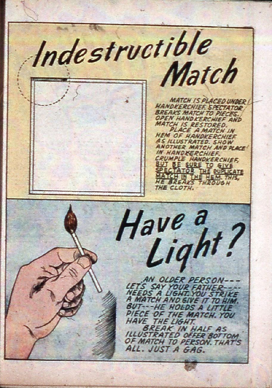 Read online Super-Magician Comics comic -  Issue #3 - 42